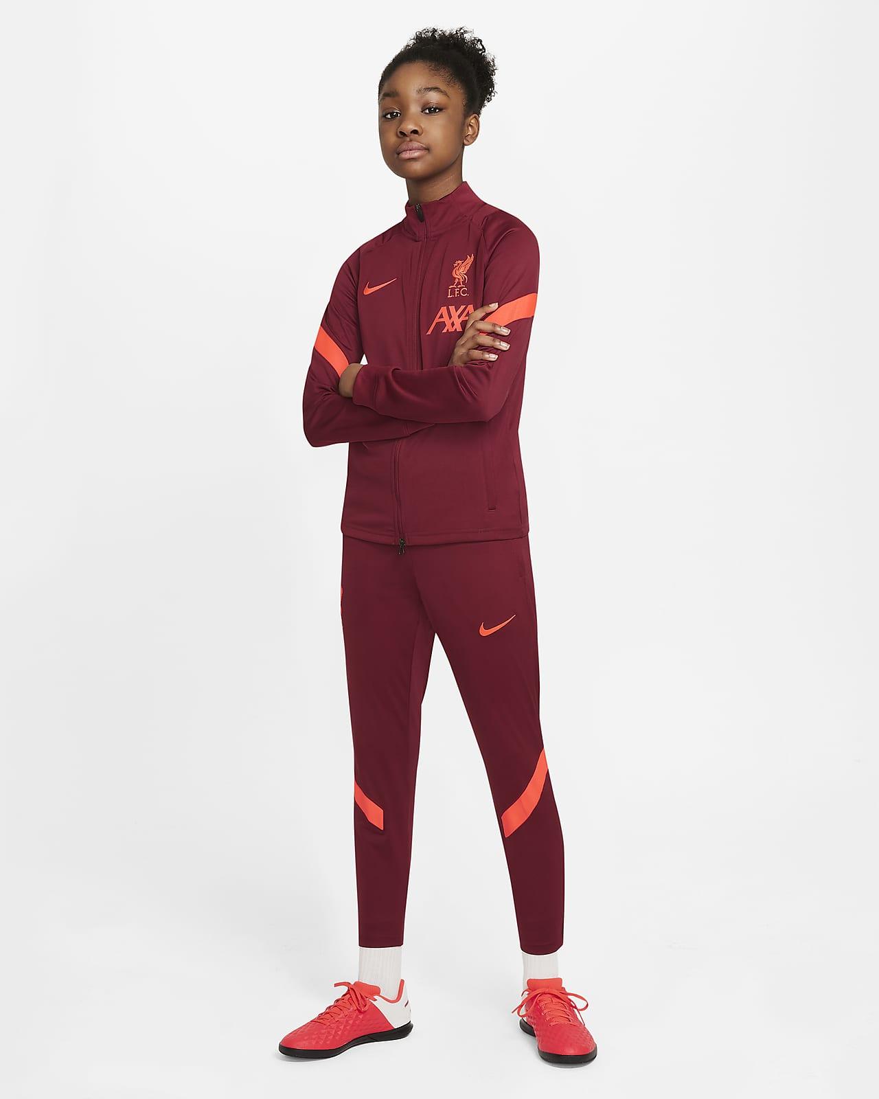 Футбольный костюм для школьников Nike Dri-FIT Liverpool FC Strike