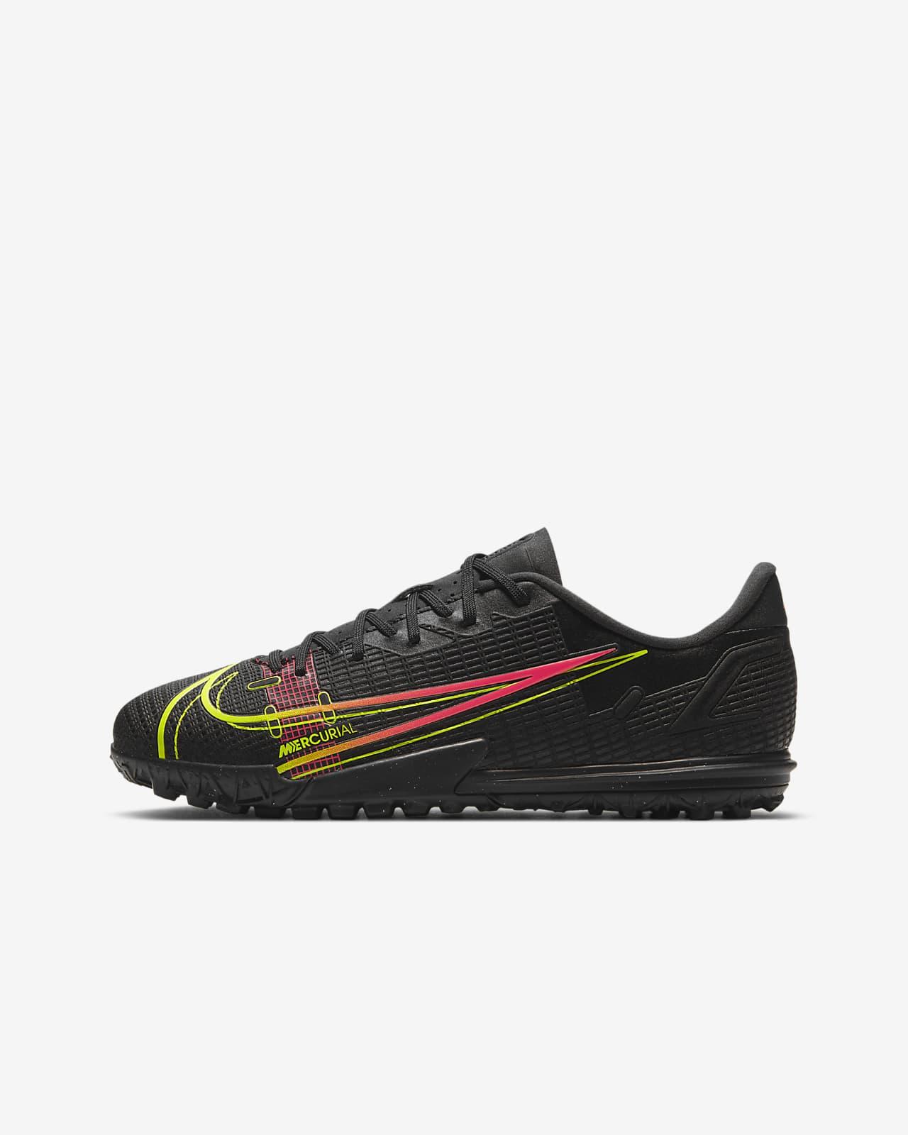 Chaussure de football pour surface synthétique Nike Jr. Mercurial Vapor 14 Academy TF pour Jeune enfant/Enfant plus âgé