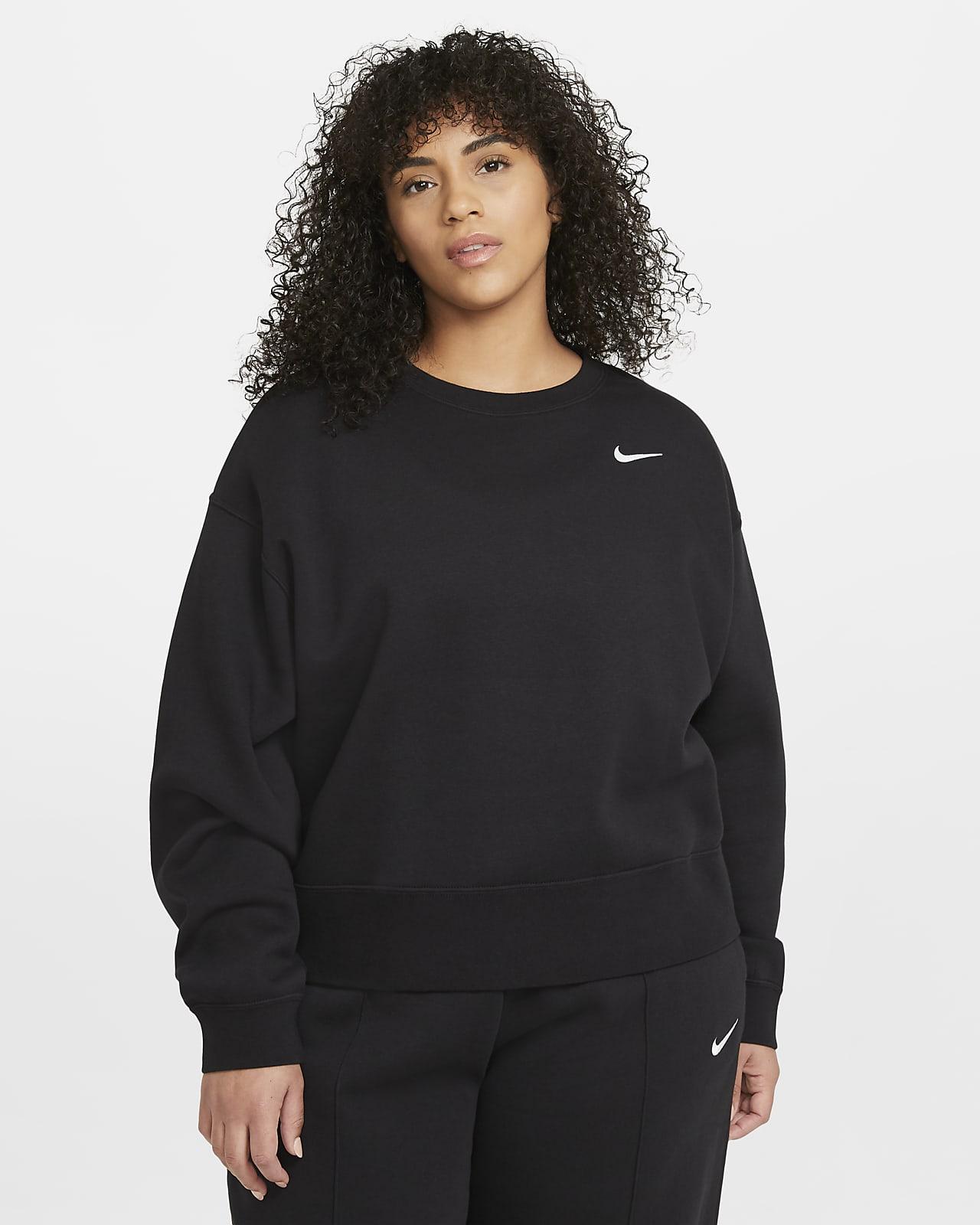 Tröja med rund hals Nike Sportswear Essential för kvinnor (Plus size)