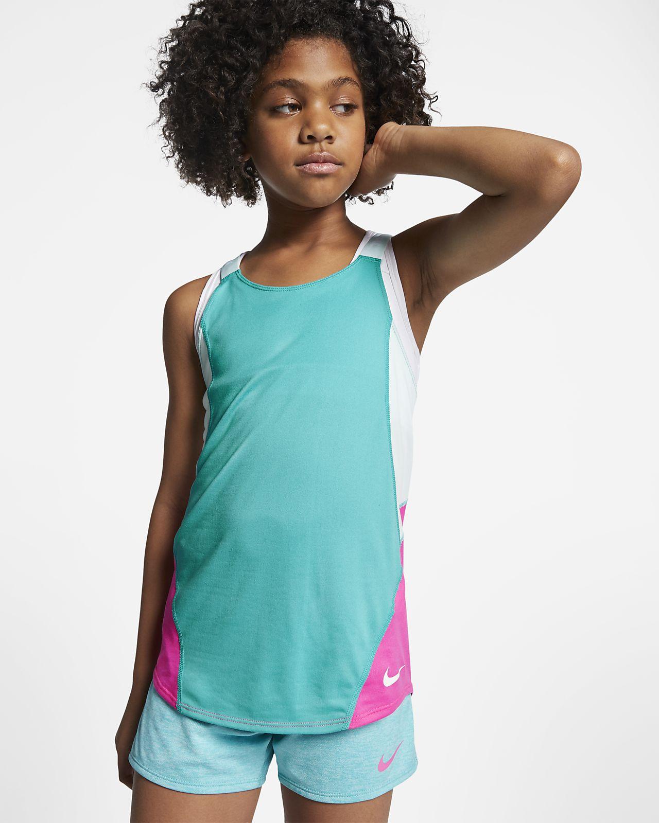 Nike Dri-FIT Older Kids' (Girls') Training Tank Top