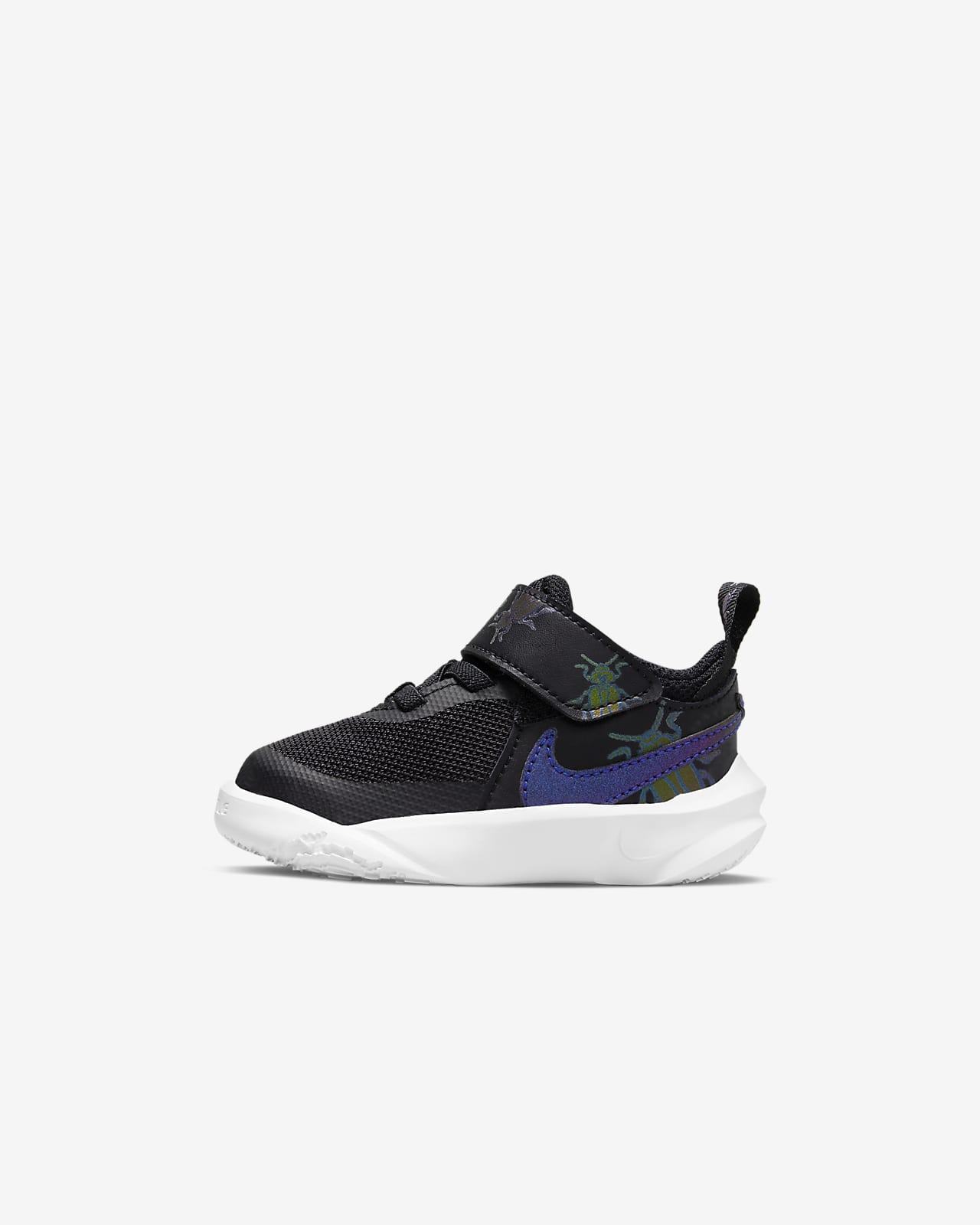 Nike Team Hustle D 10 Lil Baby/Toddler Shoe