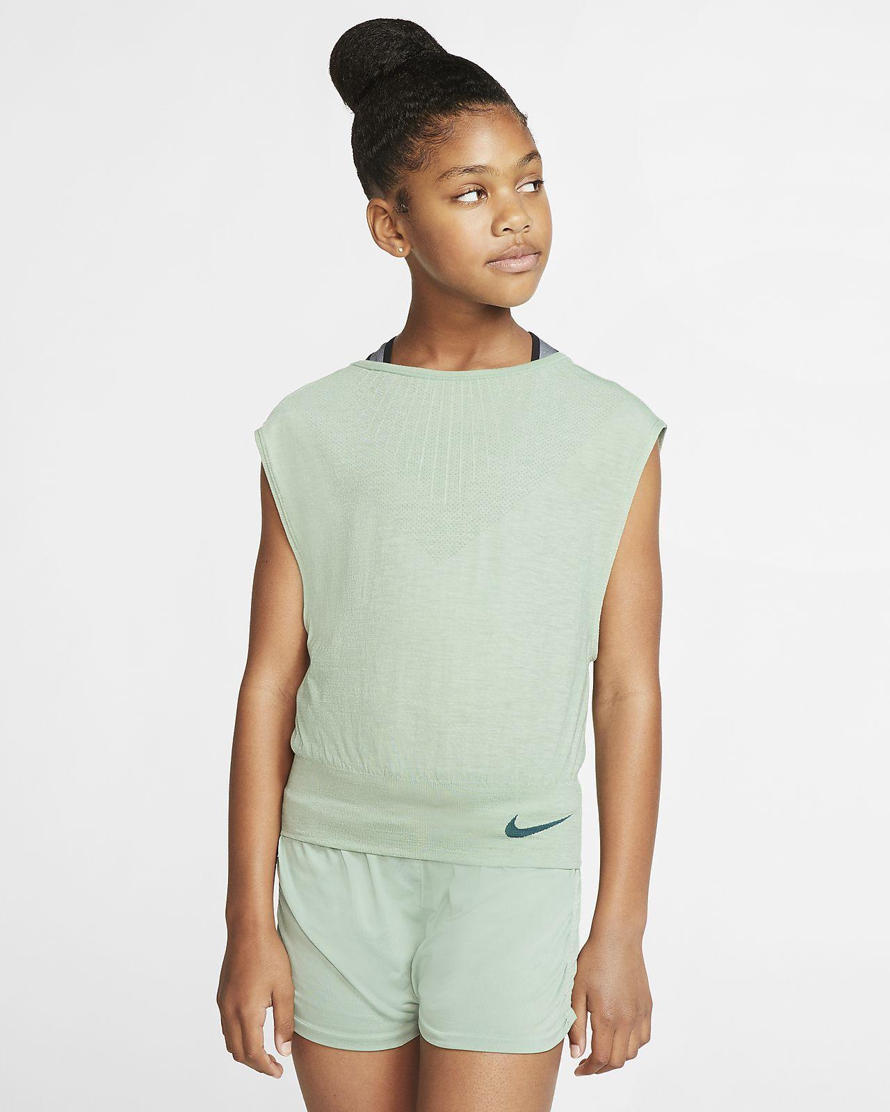 Nike Big Kids' (Girls') Reversible Training Top