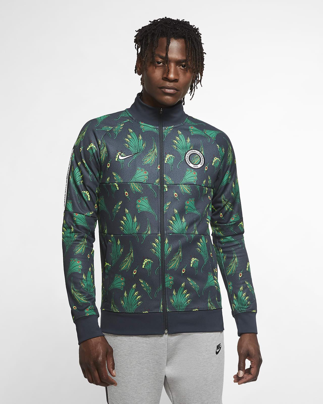 Nigeria Men's Soccer Track Jacket