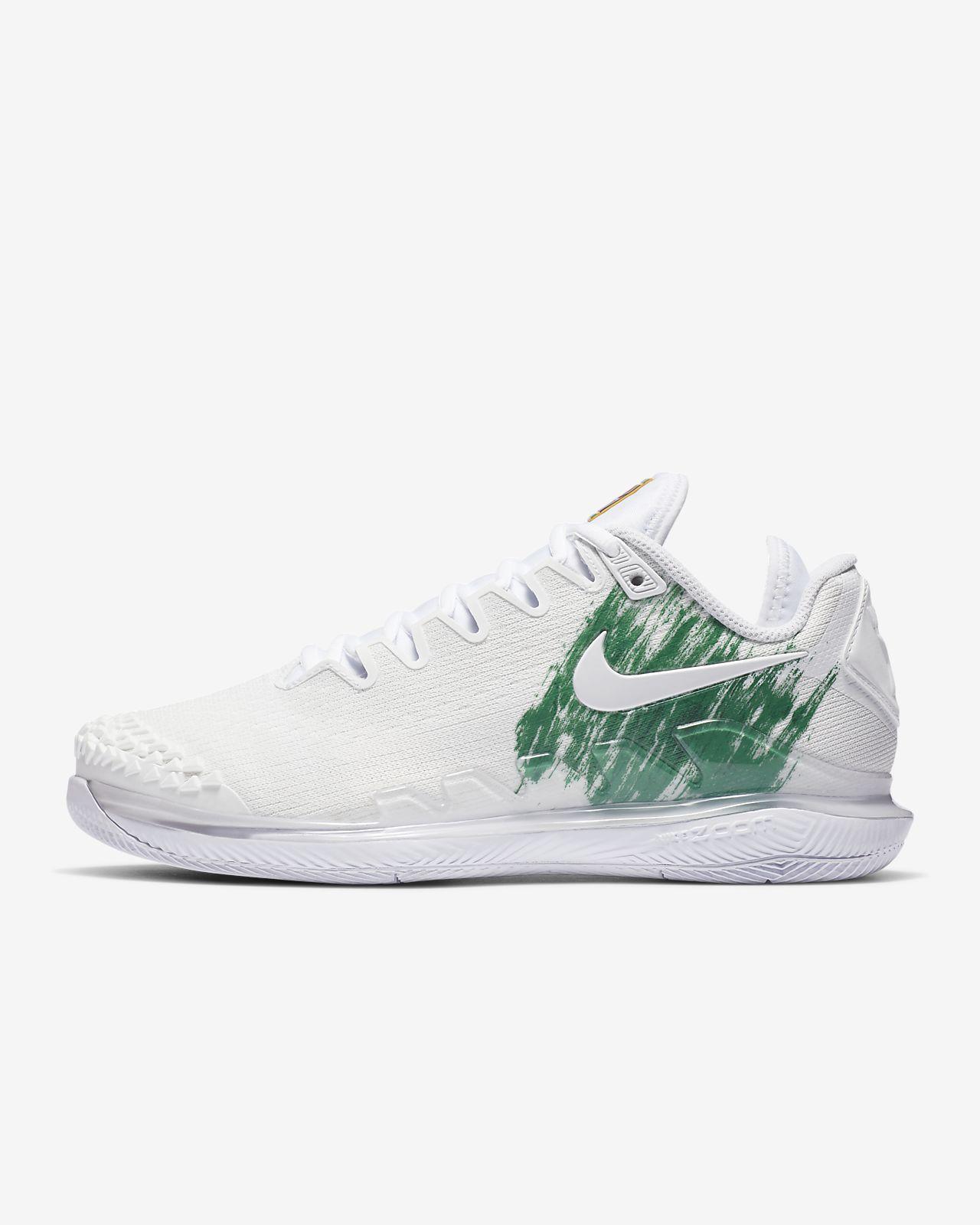 NikeCourt Air Zoom Vapor X Knit Women's Hard Court Tennis Shoe
