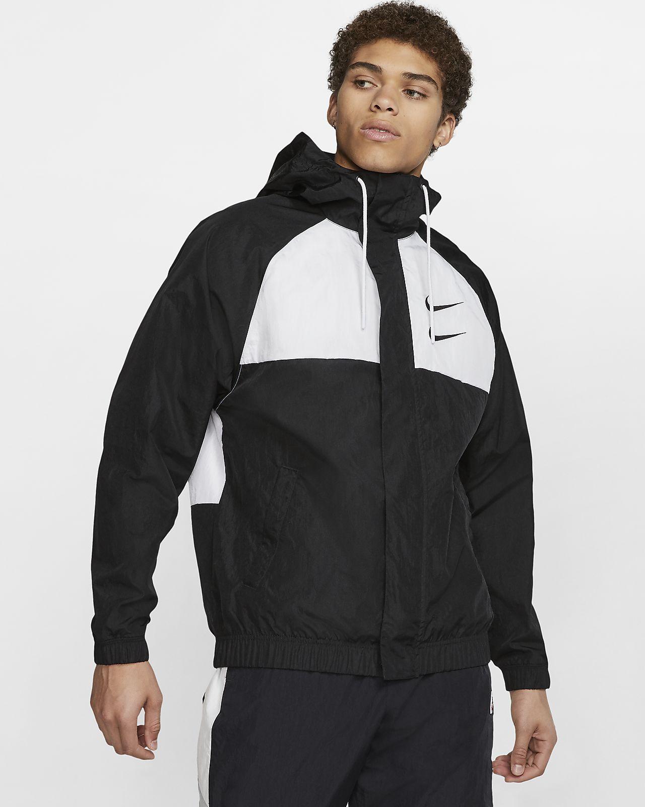 Nike Sportswear Hooded Windbreaker | AR2191 103 | White
