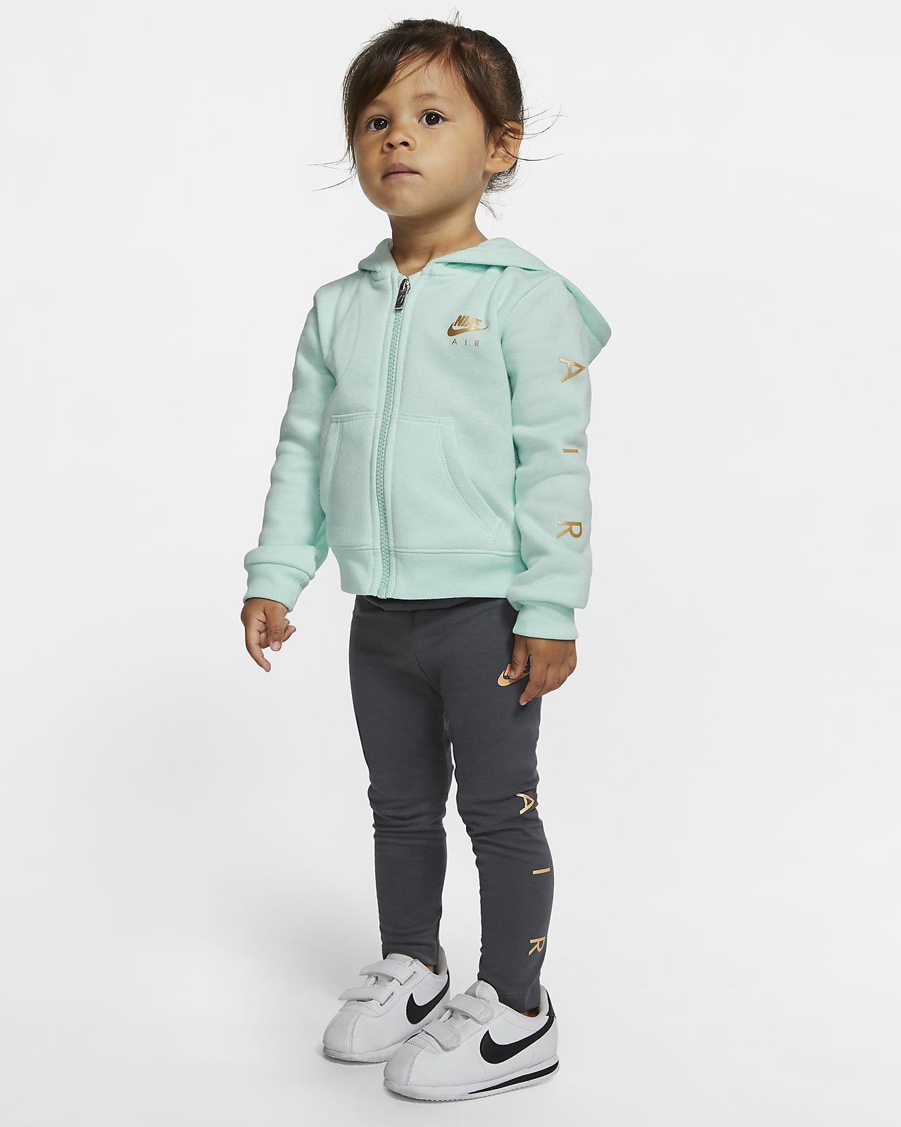 Nike Air Baby (12-24M) Hoodie and Leggings Set