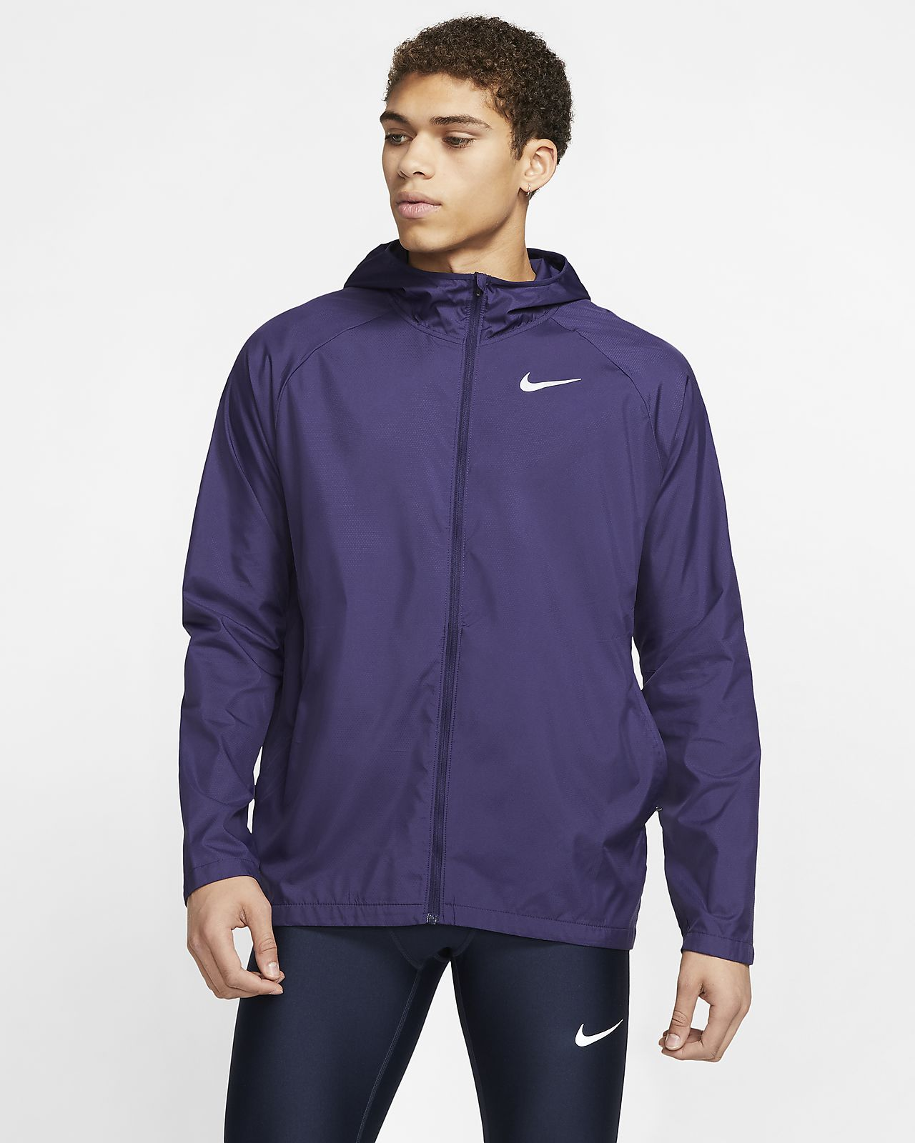 Nike Essential Men's Hooded Running Jacket