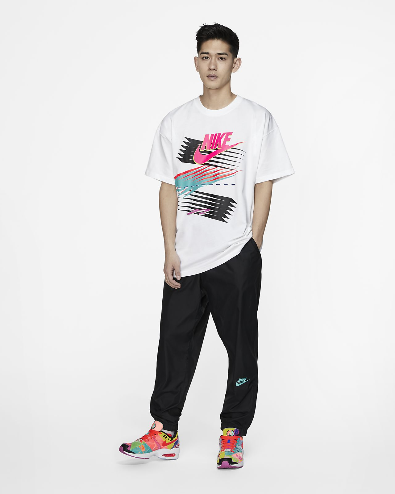 T shirt Nike x atmos Uomo