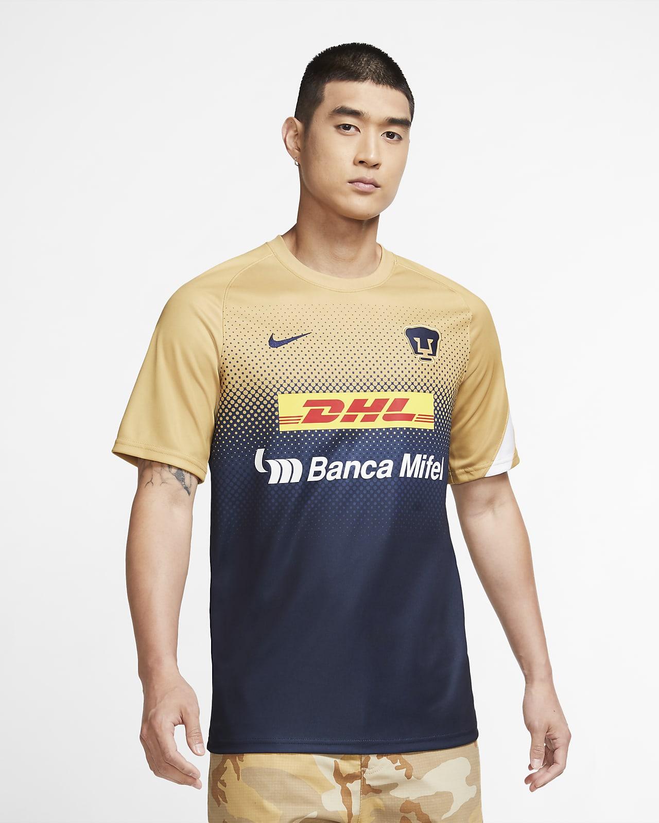 Pumas Men's Short-Sleeve Soccer Top