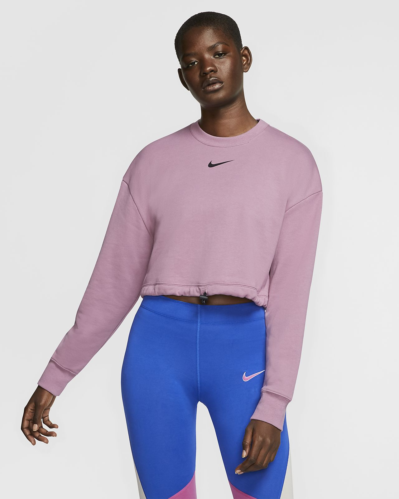 Haut en molleton Nike Sportswear Swoosh pour Femme