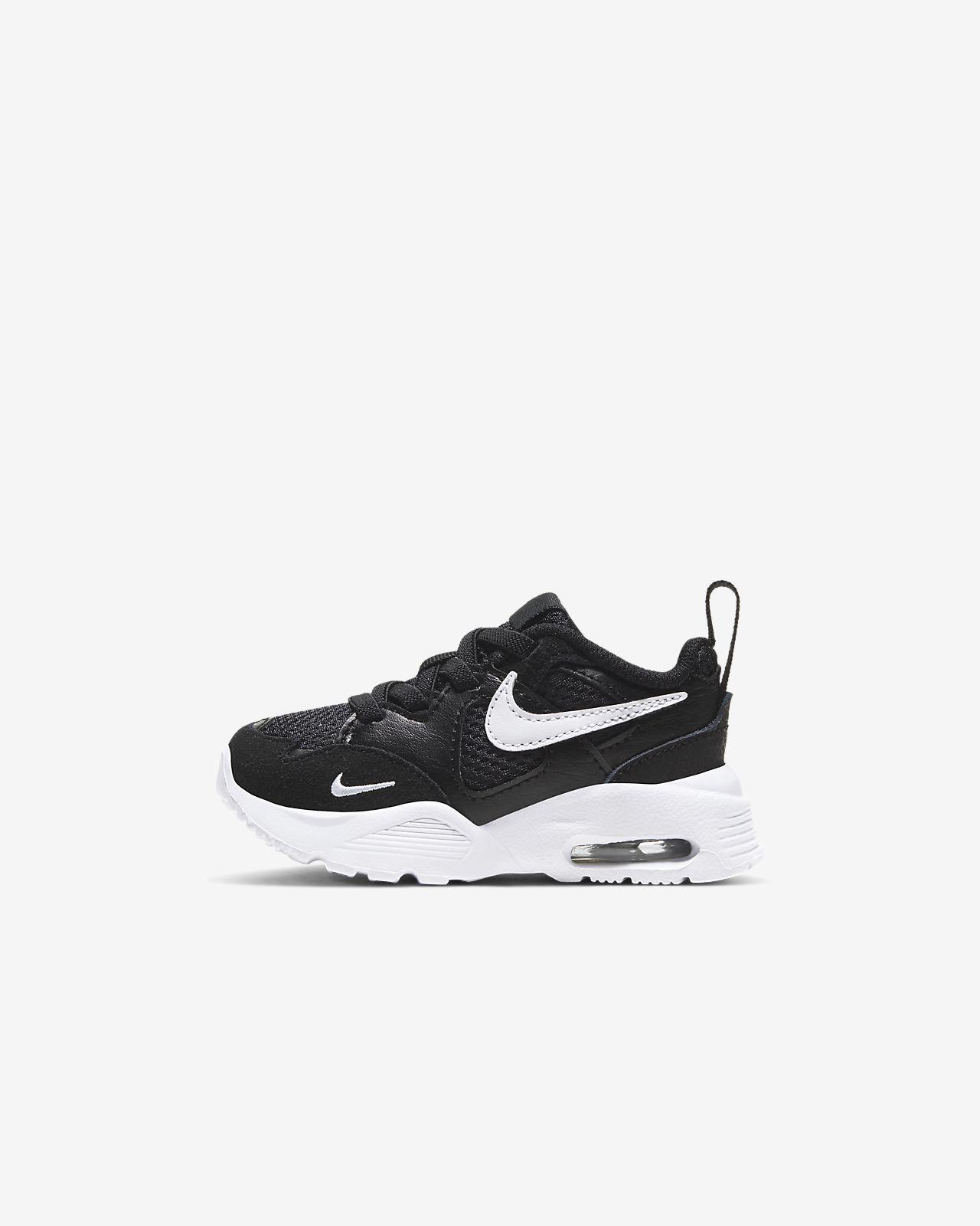 Nike Kleinkinder Kinder Freizeit und Sport Schuh MD RUNNER 2 TDV schwarz weiß
