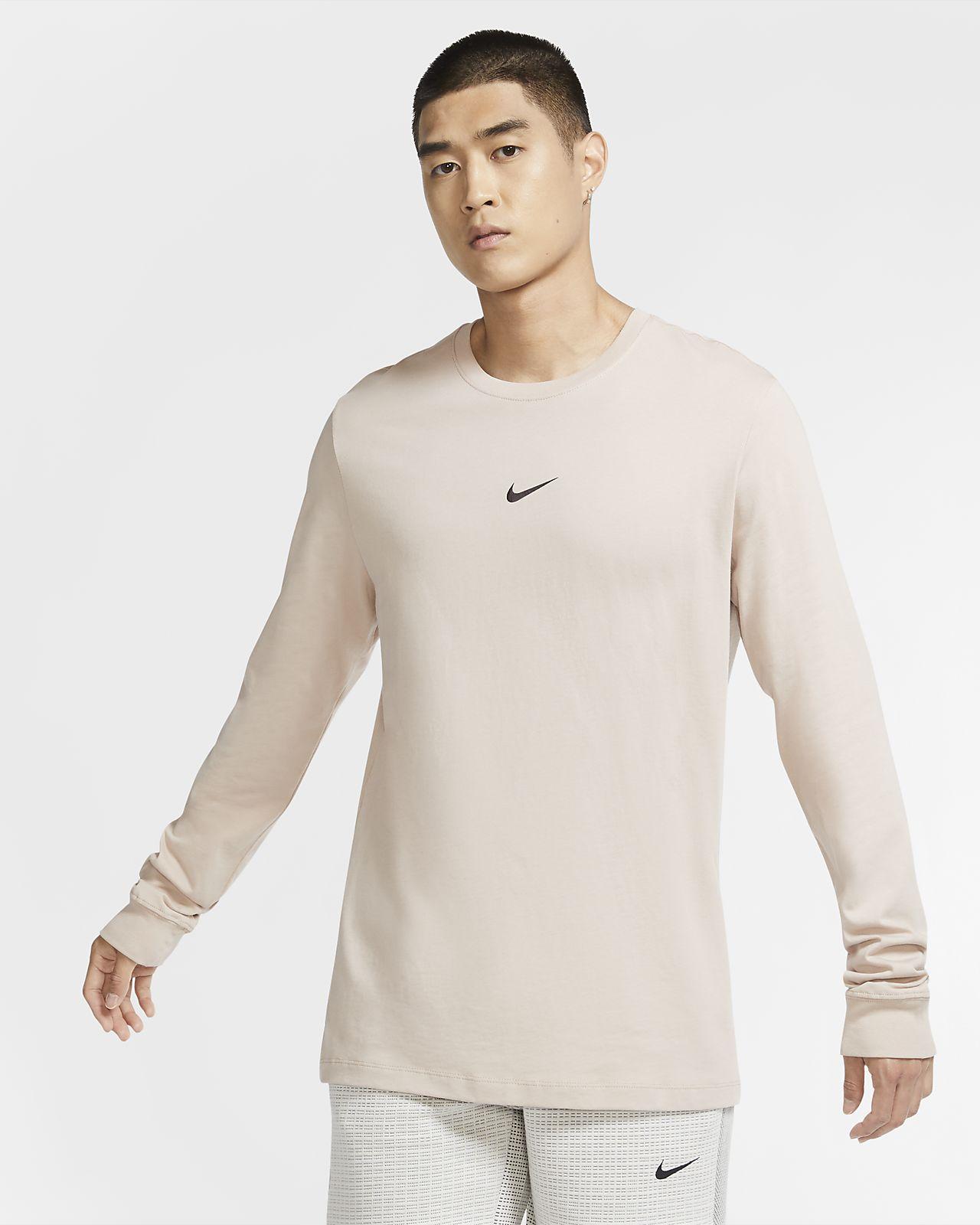 Męski T-shirt z długim rękawem Nike Sportswear Swoosh