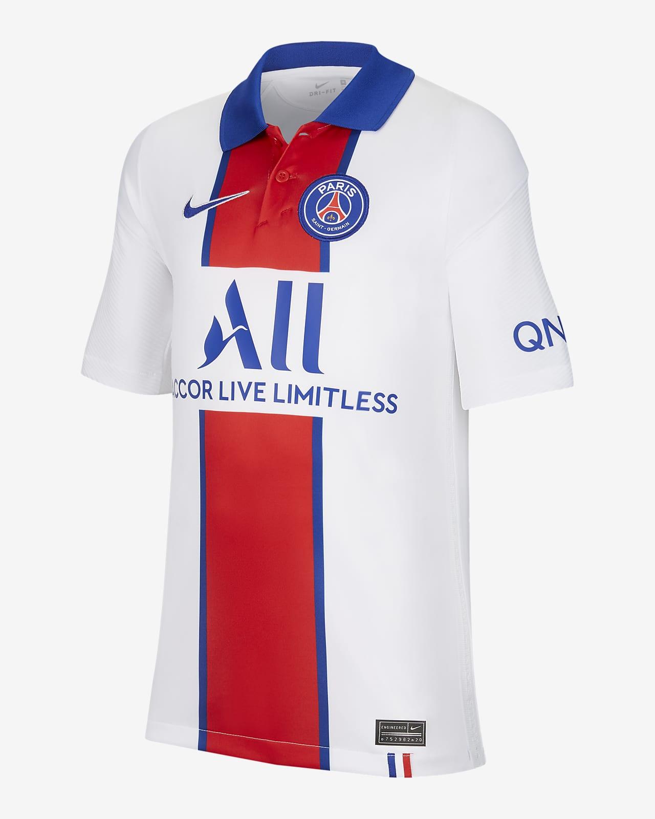 Segunda equipaci\u00f3n Stadium Par\u00eds Saint-Germain 2020\/21 Camiseta de f\u00fatbol - Ni\u00f1o\/a. Nike ES