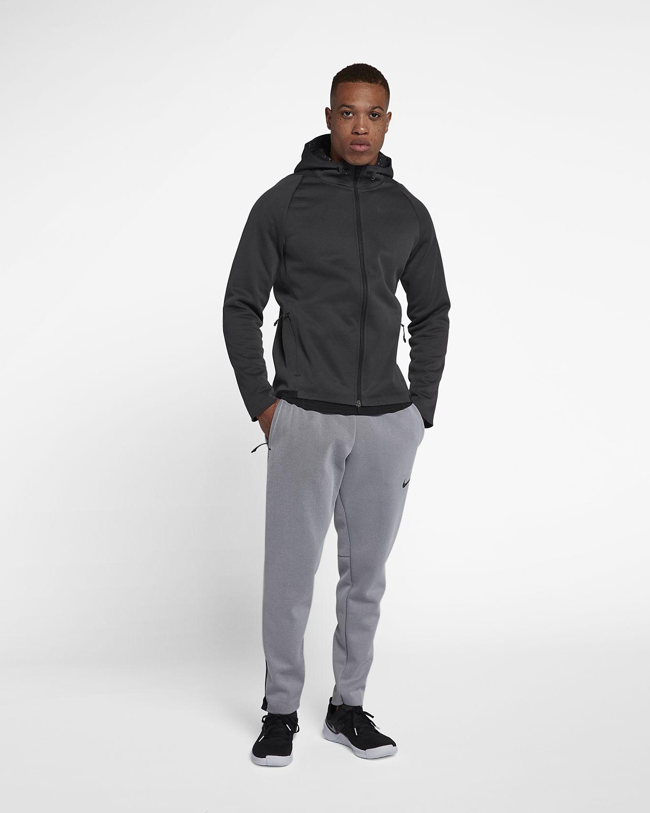 Nike Mens Therma Sphere Max Training Hoodie Jacket, Black