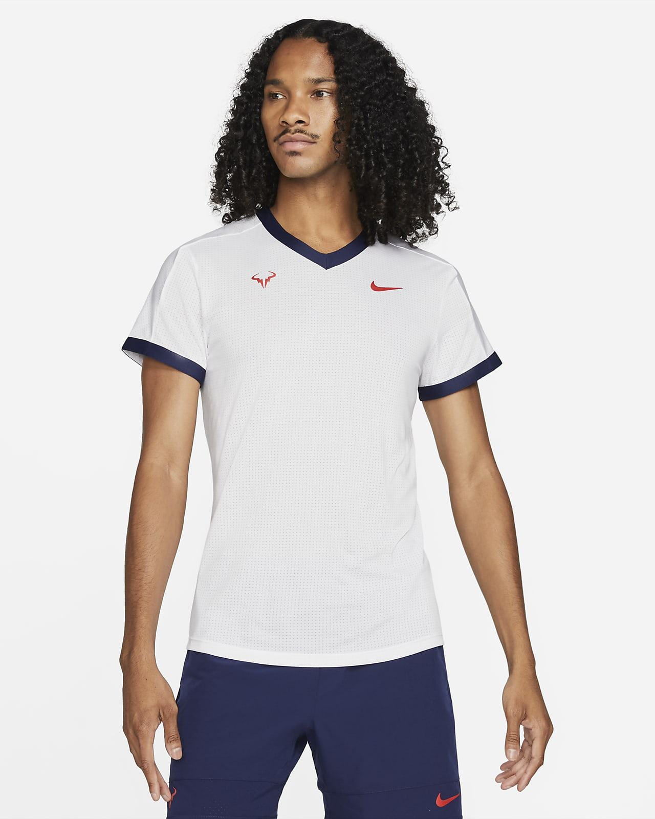 NikeCourt Dri-FIT ADV Rafa 男款短袖網球上衣