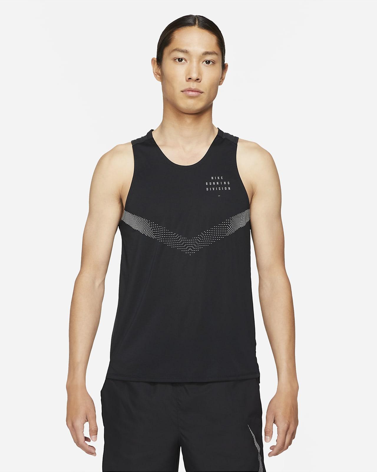 เสื้อกล้ามวิ่งผู้ชาย Nike Dri-FIT Rise 365 Run Division