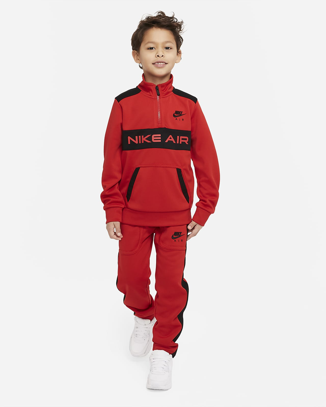 Nike Air Set aus Oberteil und Jogger für jüngere Kinder