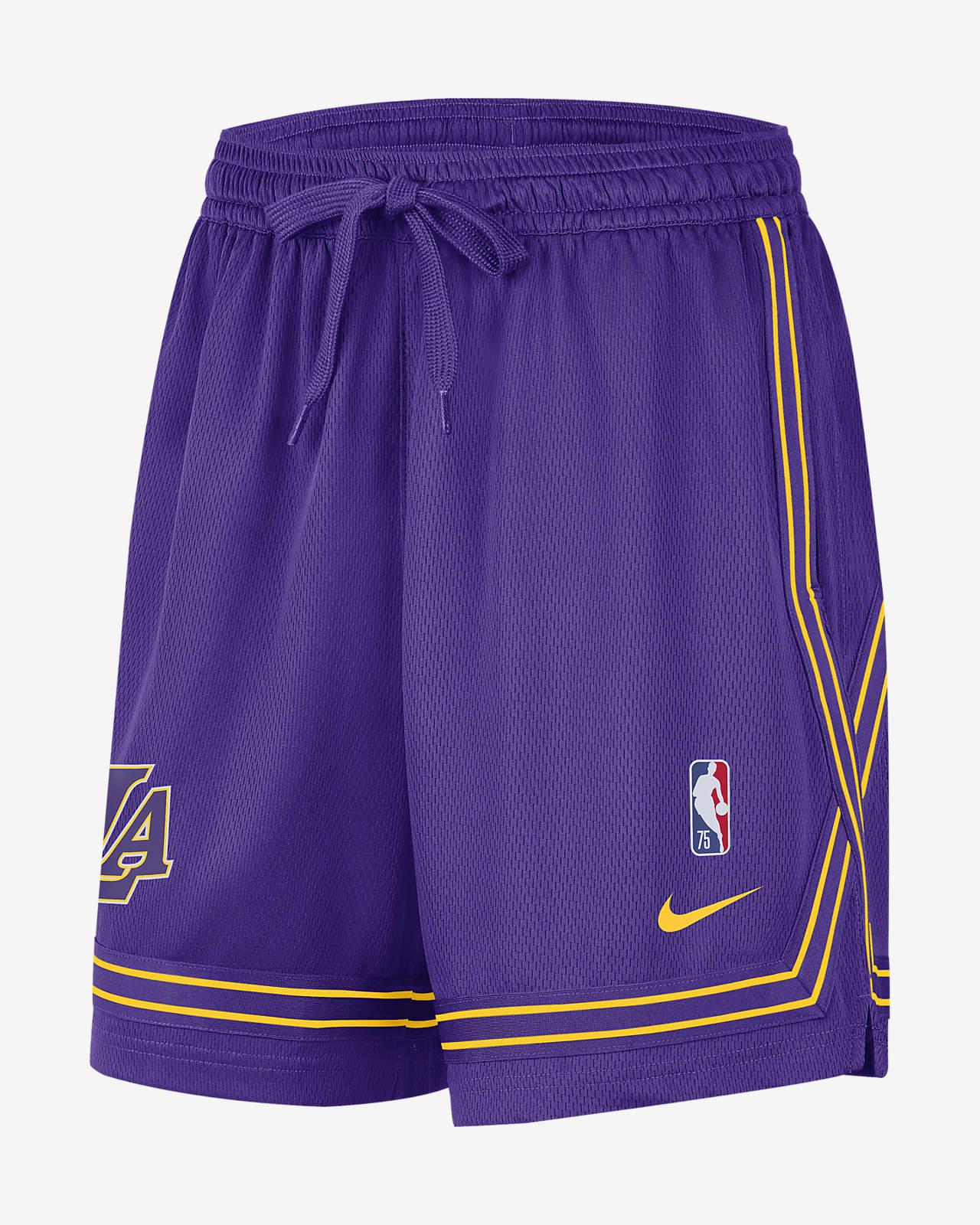 Los Angeles Lakers Courtside Women's Nike NBA Shorts