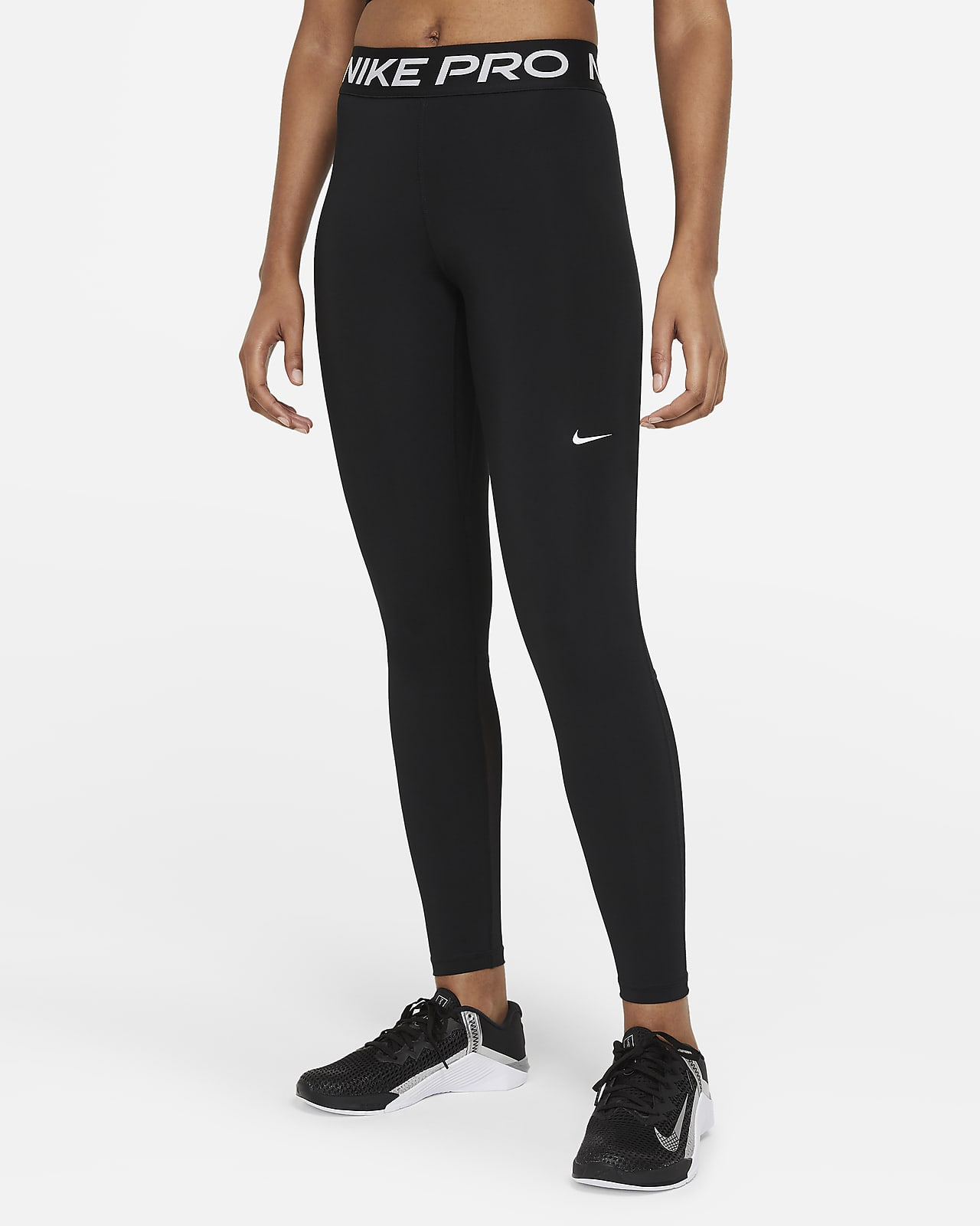 Leggings med medelhög midja Nike Pro för kvinnor
