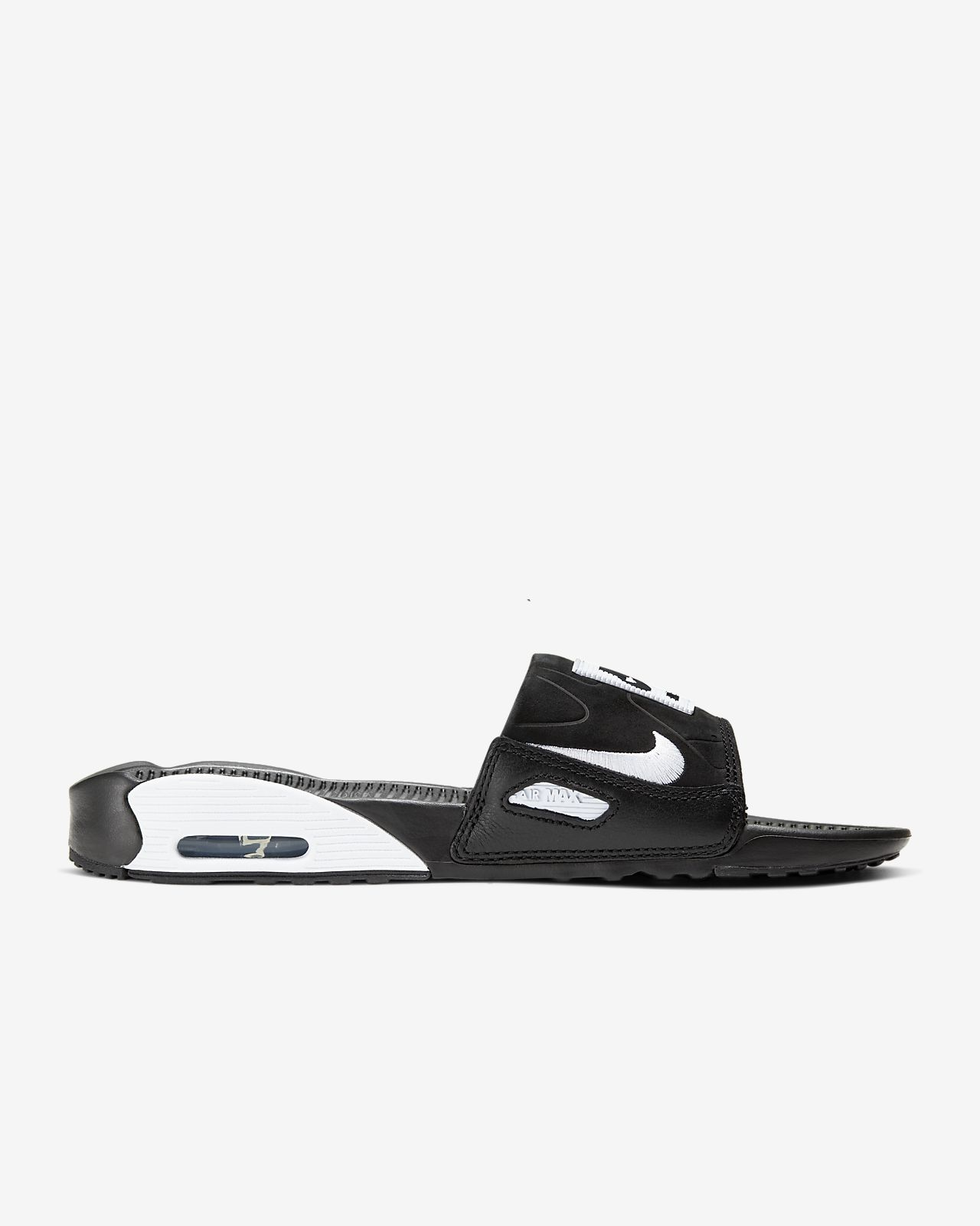 Claquettes Nike Air Max 90 NoirBlanc