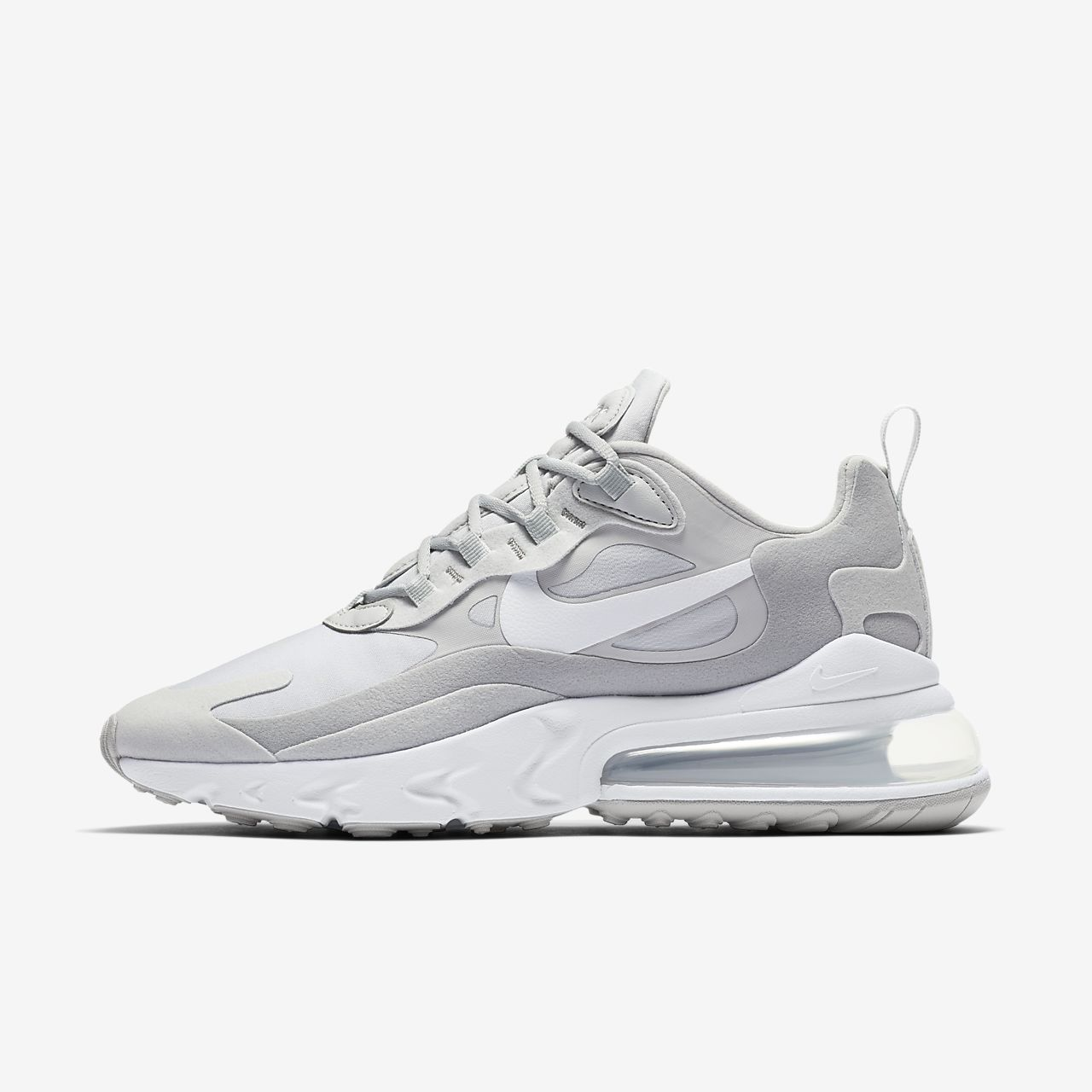 air max 270 react grey fog
