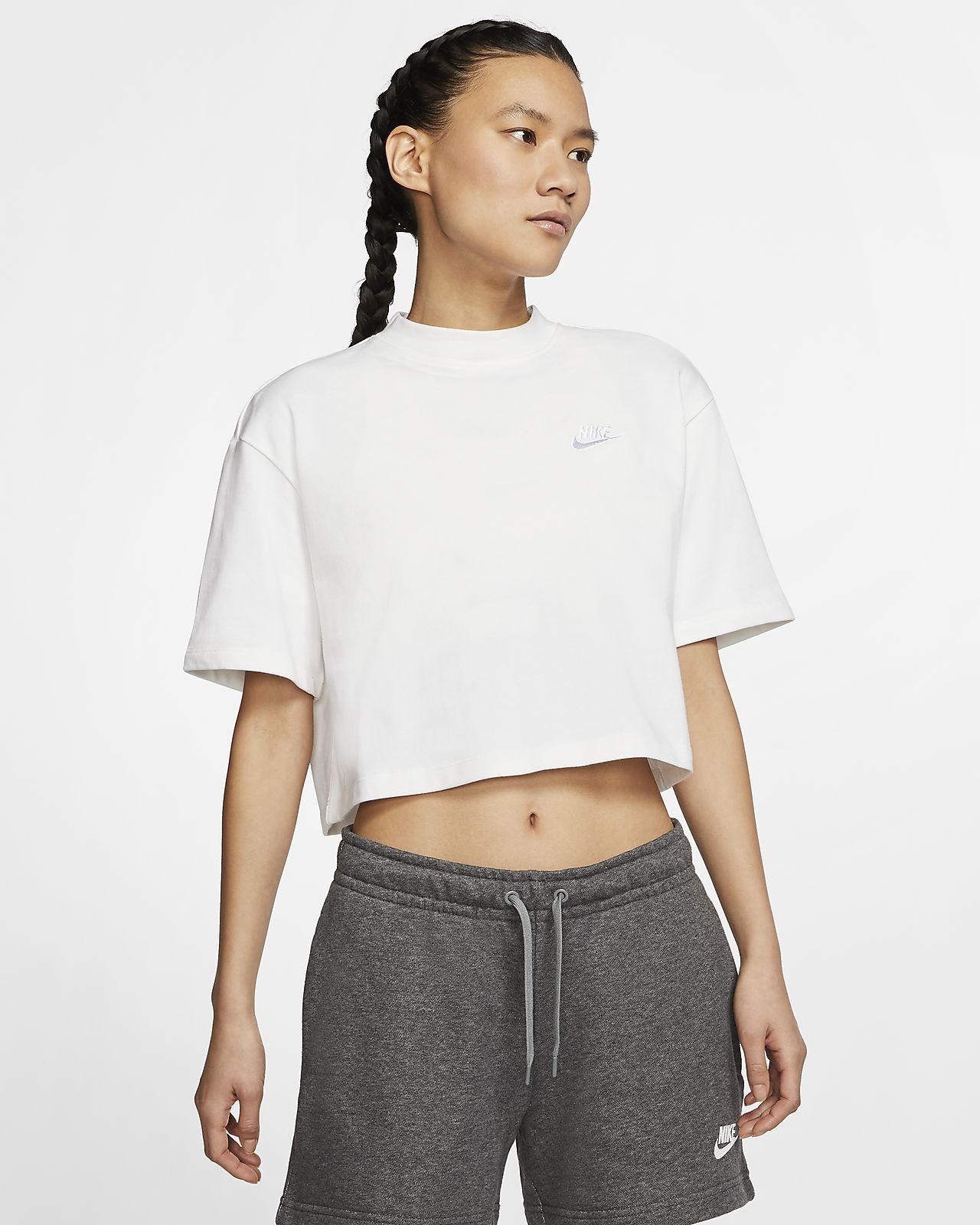 Γυναικεία κοντομάνικη μπλούζα ζέρσεϊ Nike Sportswear