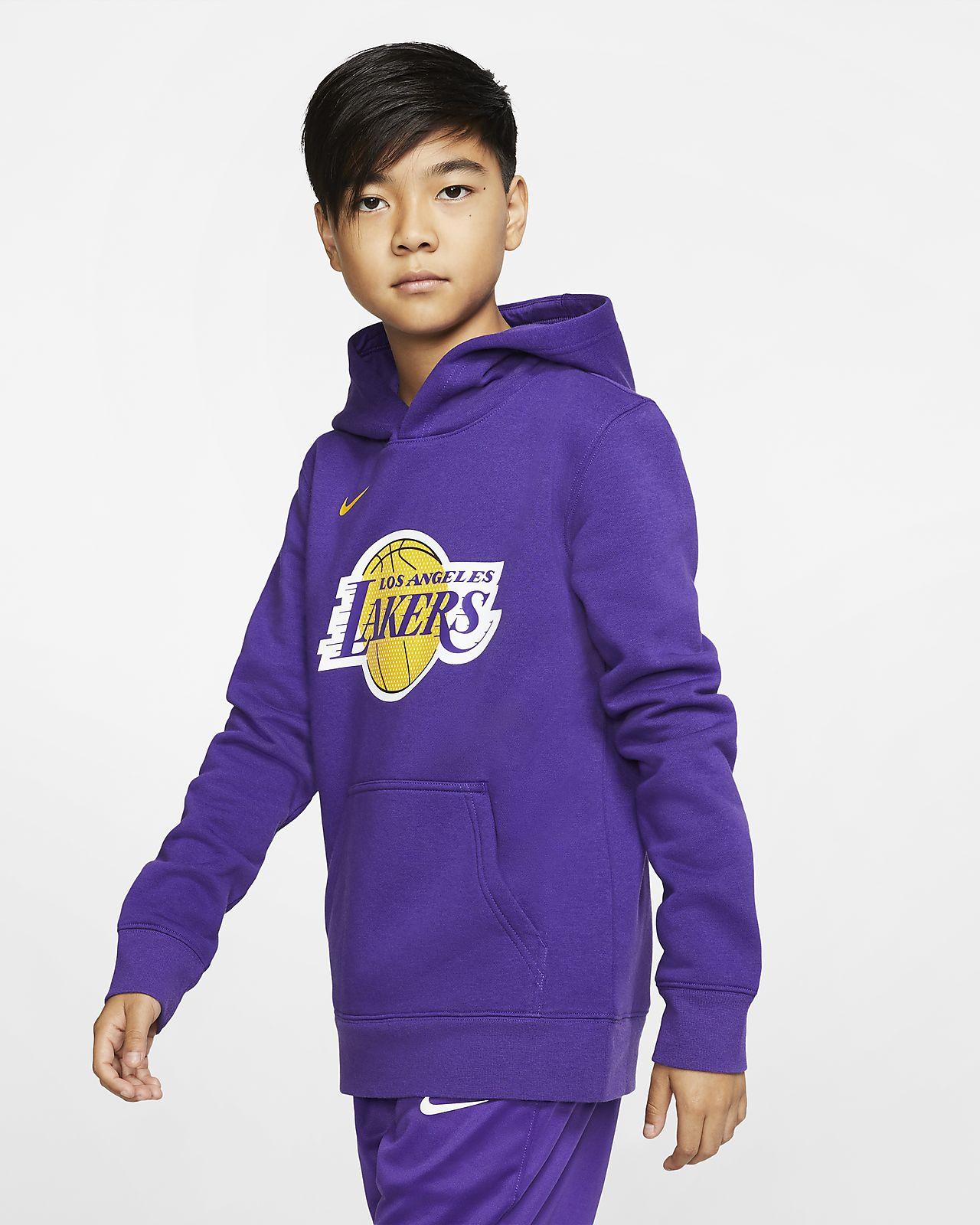 Los Angeles Lakers Logo Nike NBA-hoodie voor kids