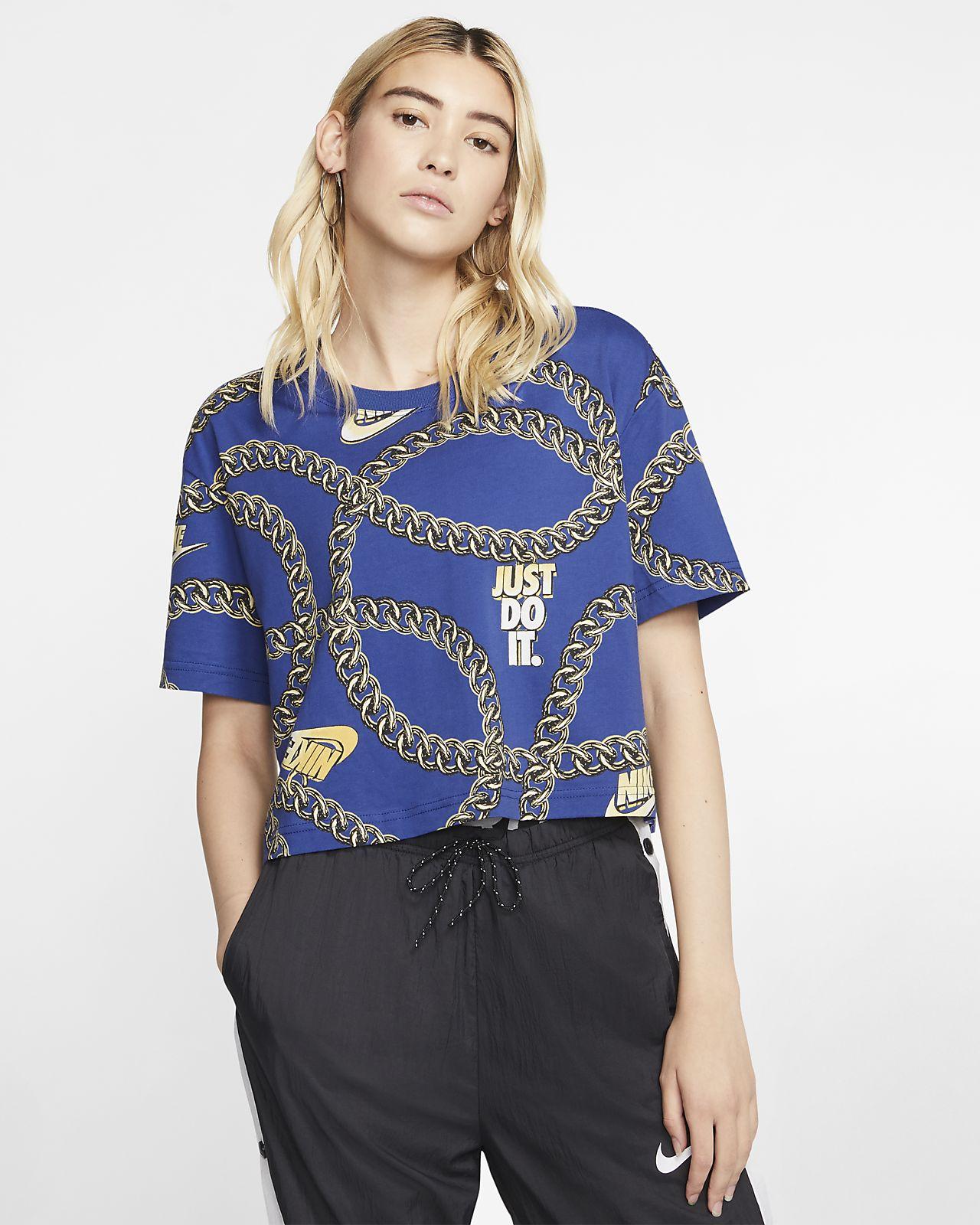 Nike Sportswear 女款短袖短版上衣