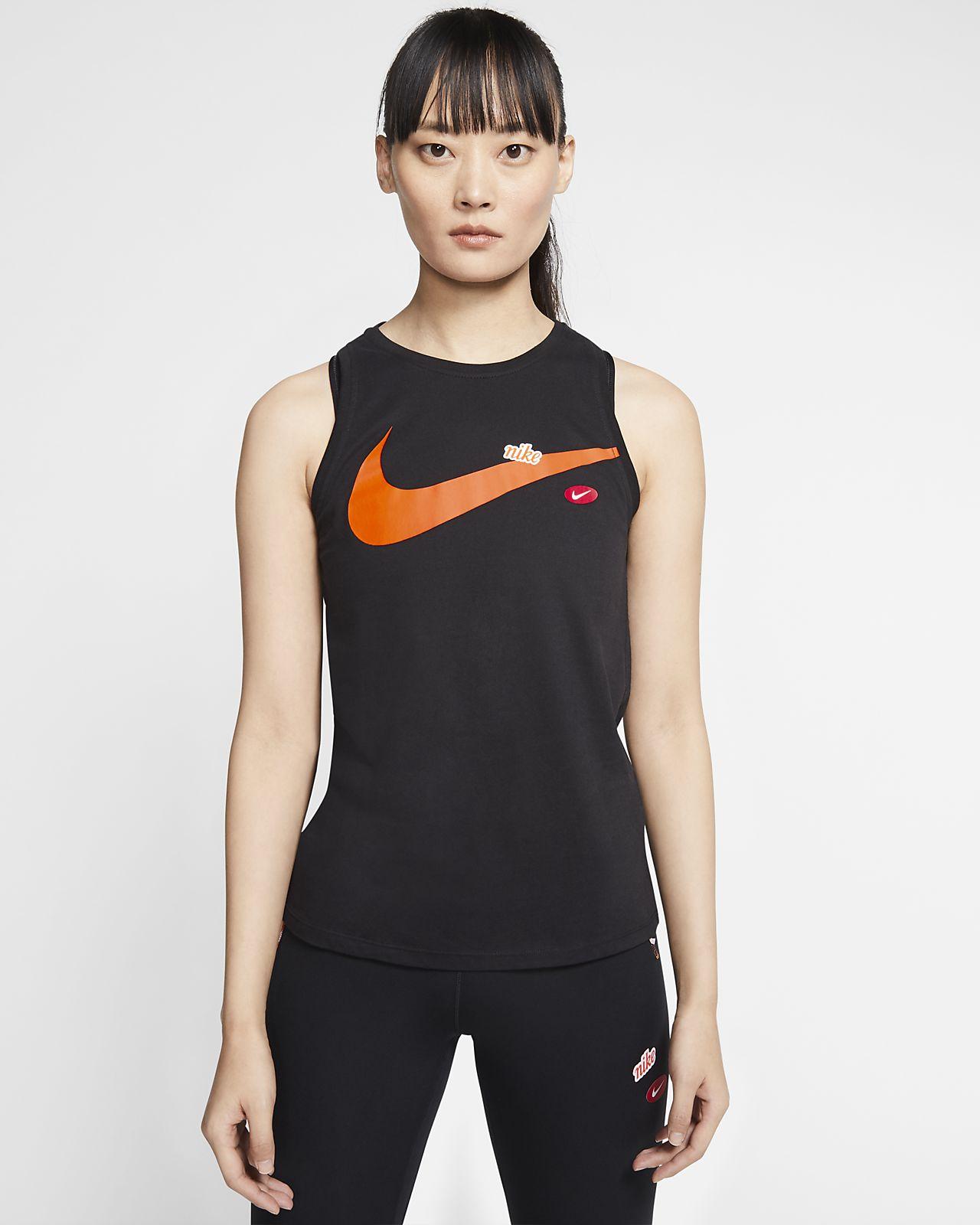 Débardeur de training à motifs Nike Dri-FIT pour Femme