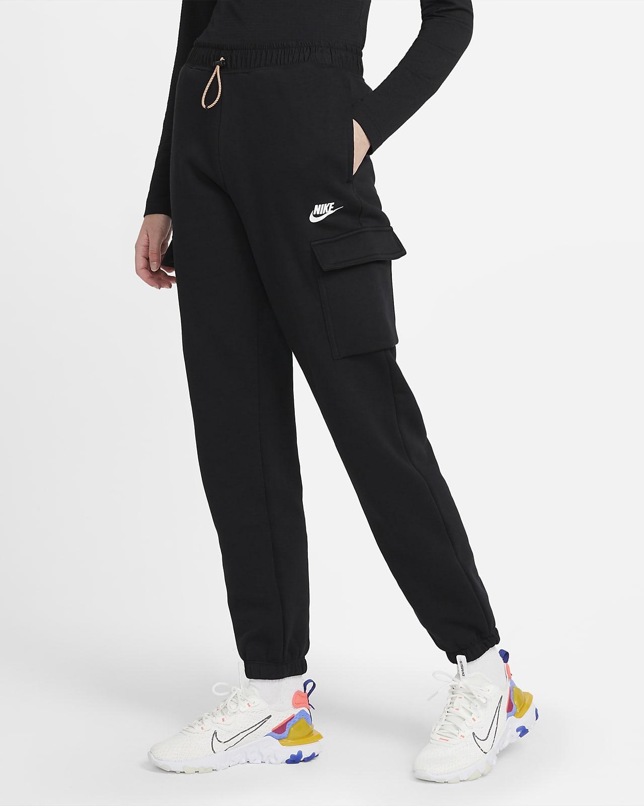 Dámské flísové cargo kalhoty Nike Sportswear