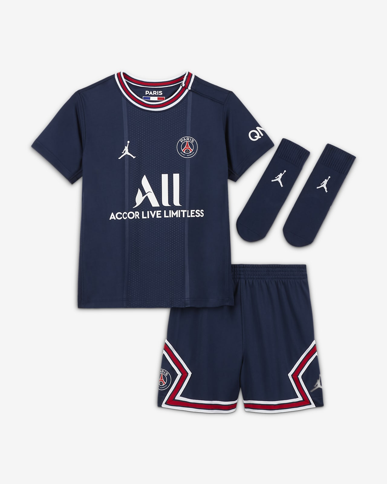 Paris Saint-Germain 2021/22 İç Saha Bebek Futbol Forması