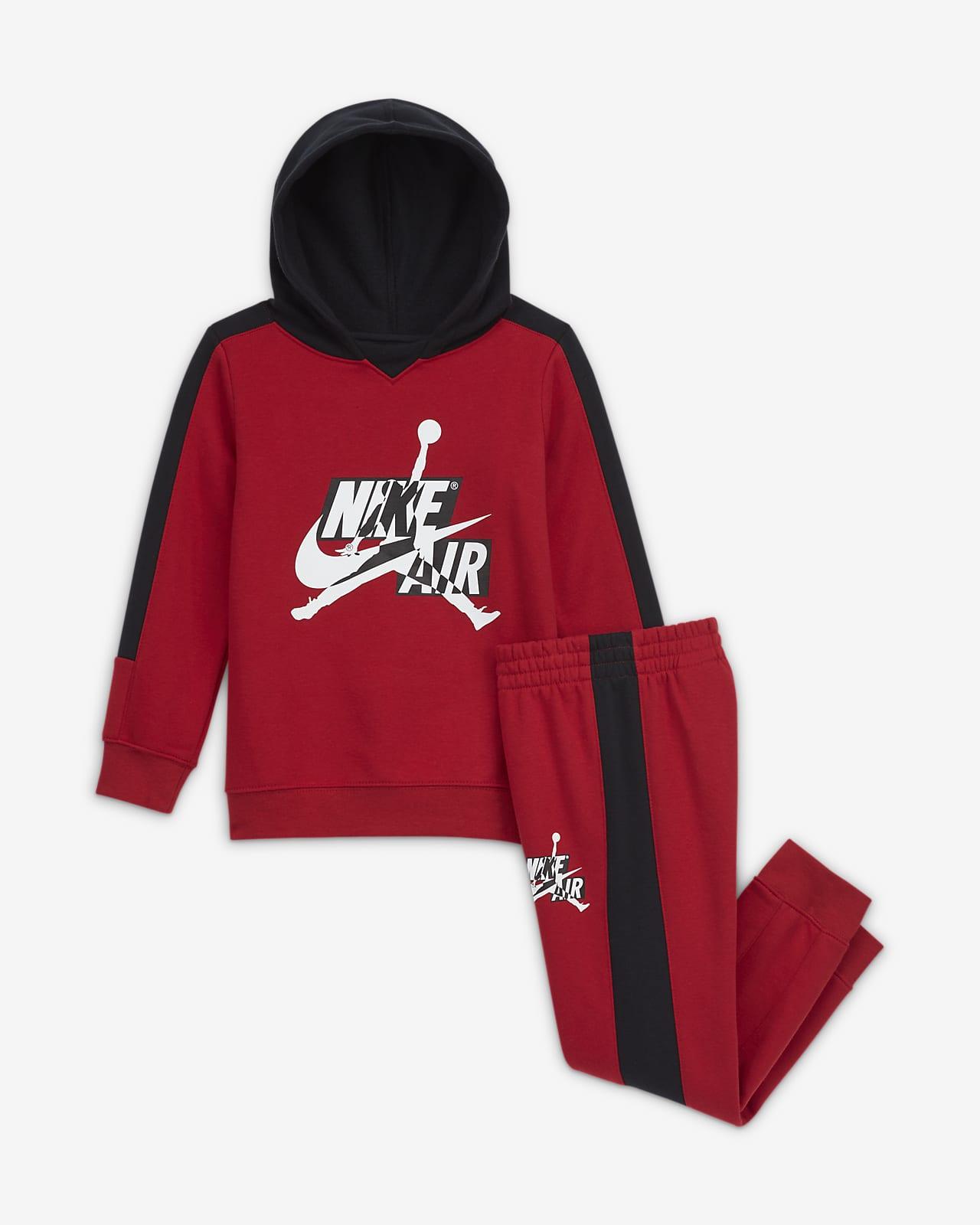 Jordan Conjunto de sudadera con capucha y pantalón - Niño/a pequeño/a