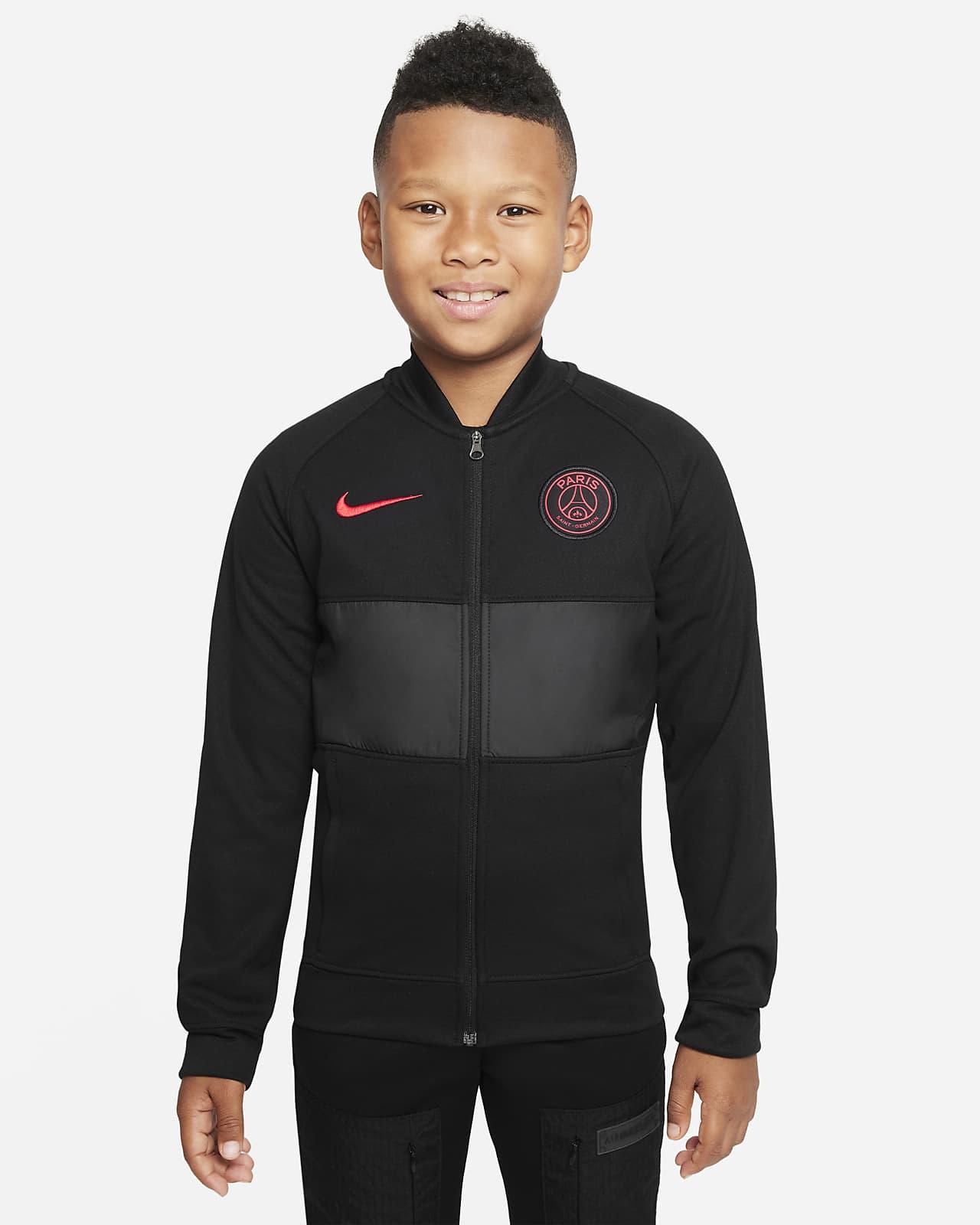 Veste de survêtement de football Nike Dri-FIT Paris Saint-Germain pour Enfant plus âgé