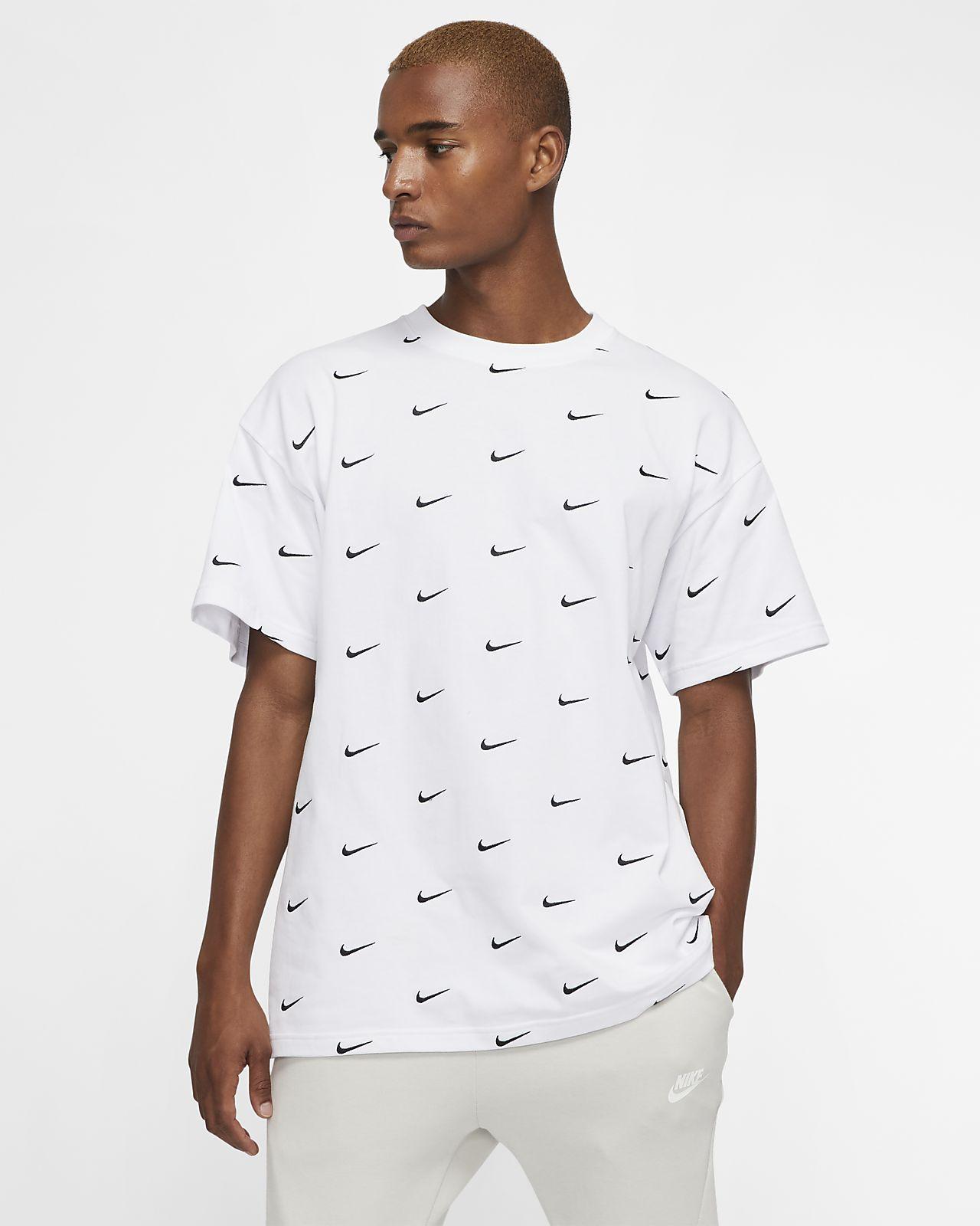 tee shirt nike swoosh