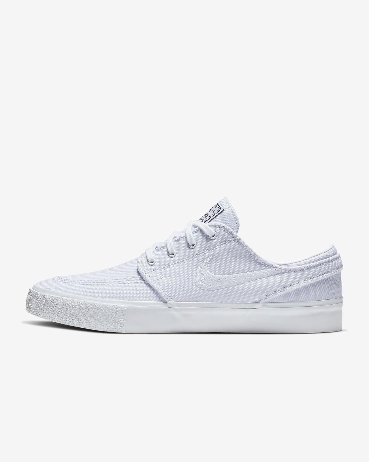 NIKE SB Zoom Stefan Janoski Canvas # Multi color White white