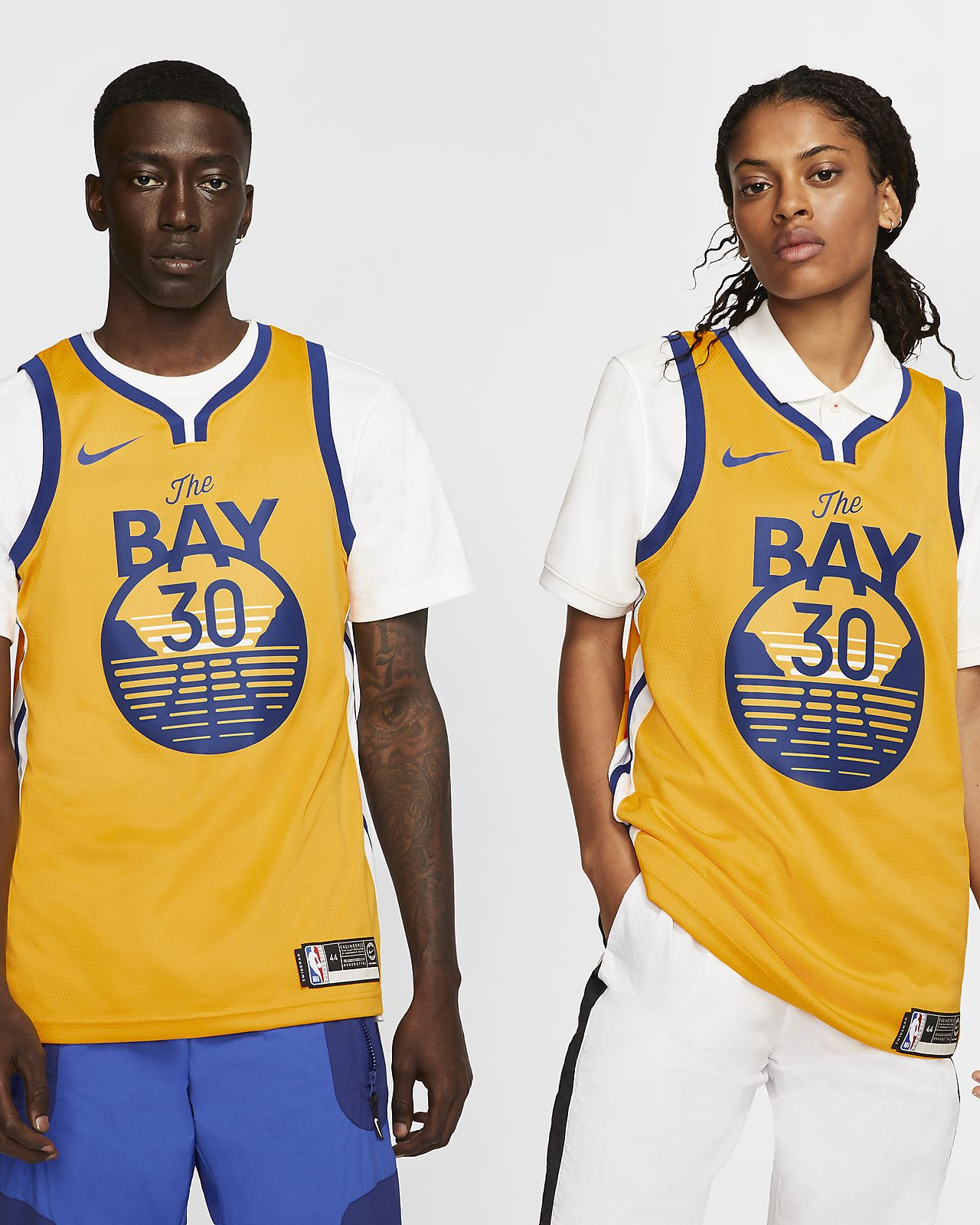 Mochila NBA Golden State Warriors Sport Azul e Preto