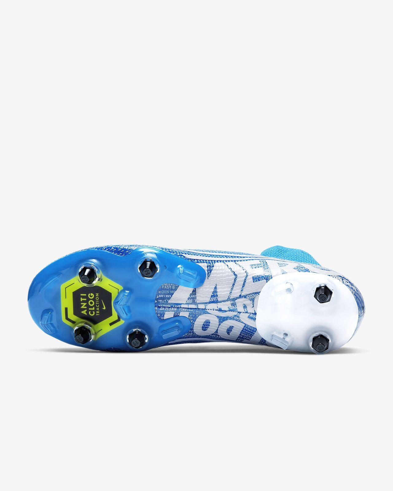 Nike Mercurial Vapor IX SG Pro BlueVoltBlue   Nike
