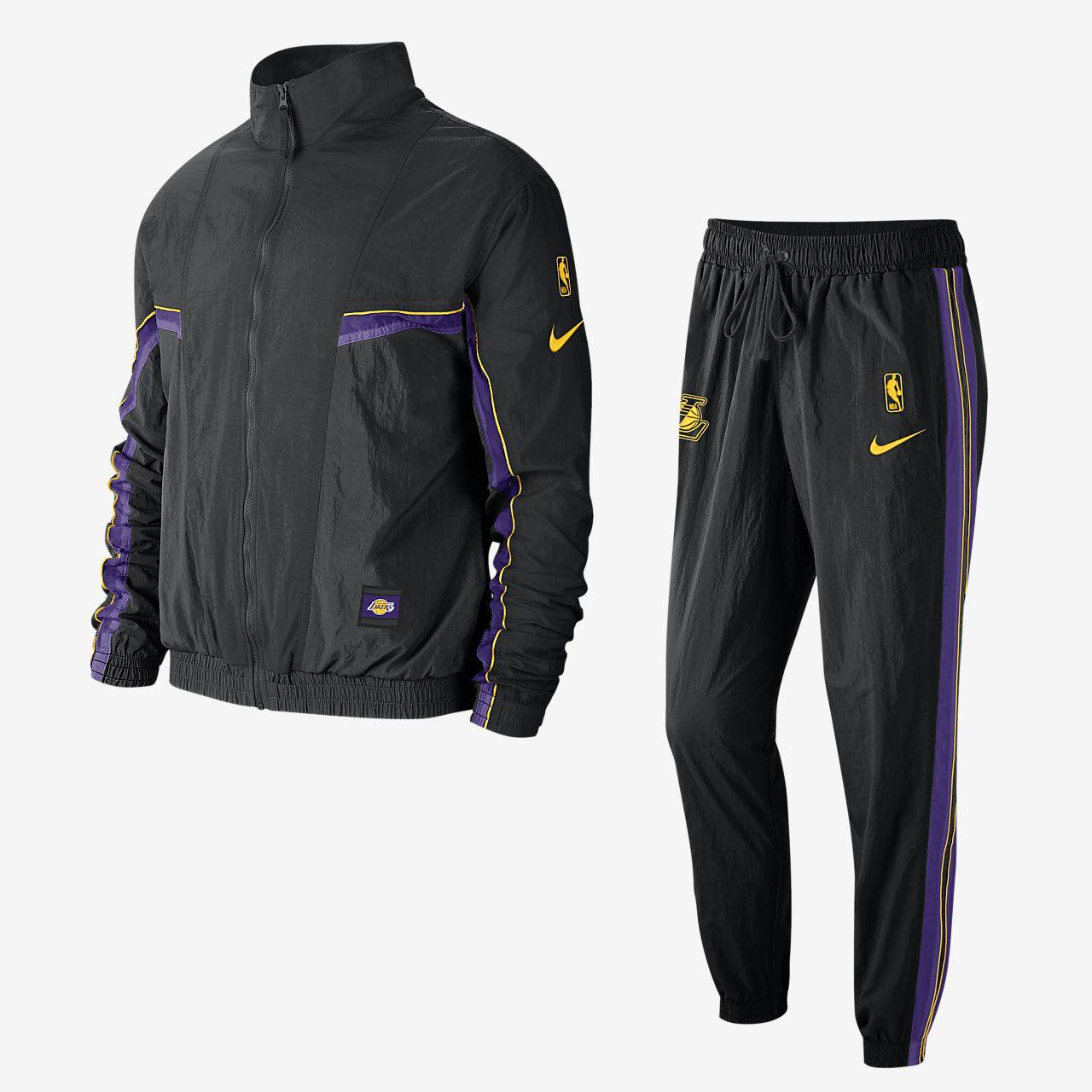 ロサンゼルス レイカーズ コートサイド メンズ ナイキ NBA トラックスーツ