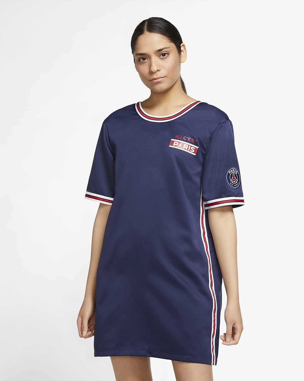 Vestido de manga corta para mujer Paris Saint-Germain