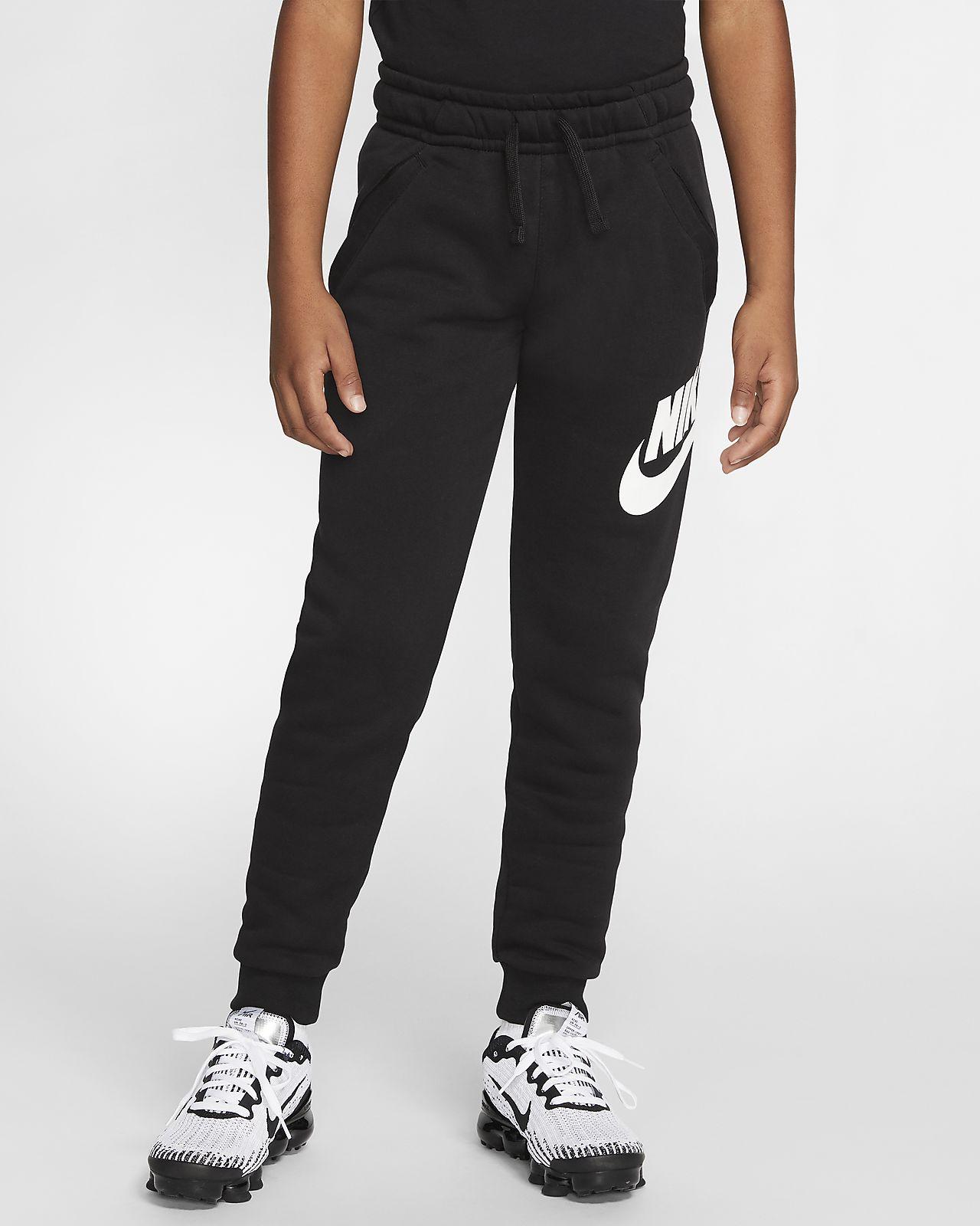 Pantalon Nike Sportswear Club Fleece NoirNoirBlanc