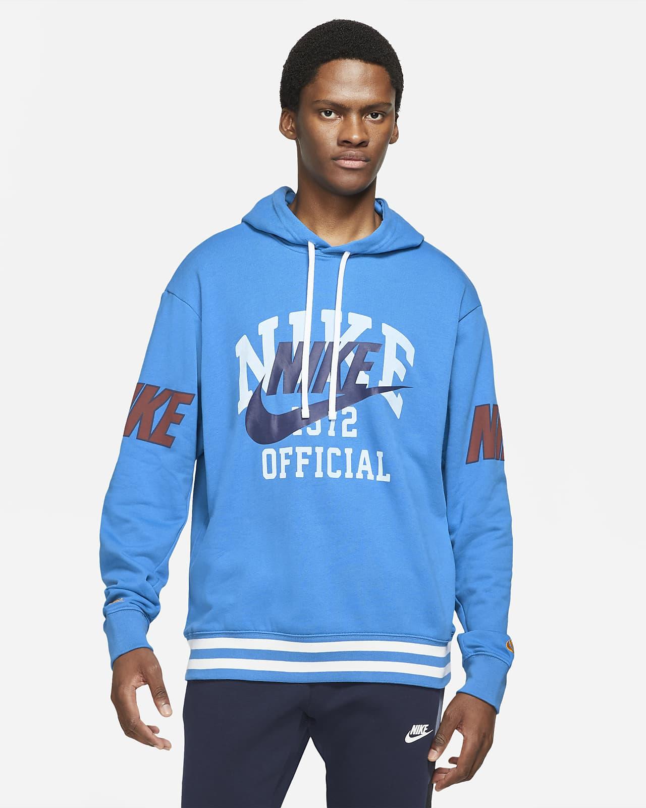 Nike Sportswear Swoosh French-Terry-Hoodie für Herren