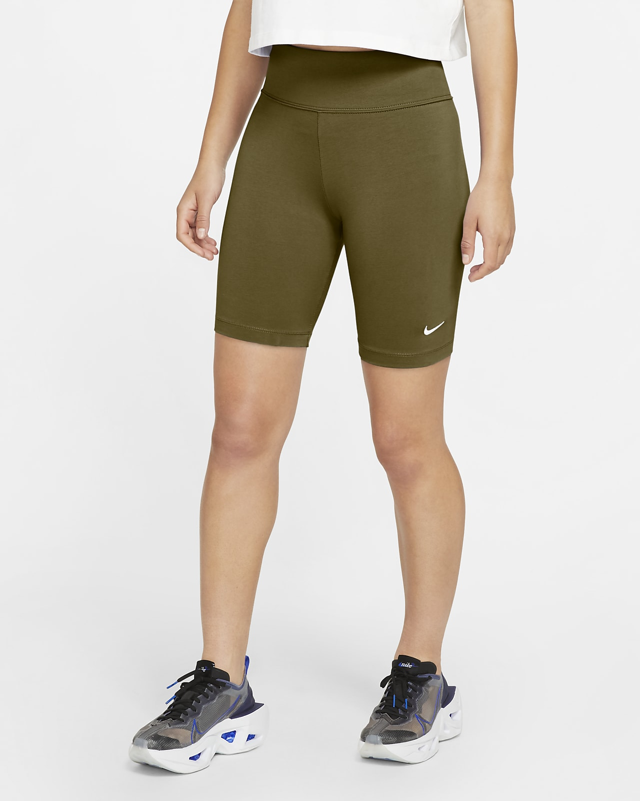 Short de vélo Nike Sportswear Leg-A-See pour Femme