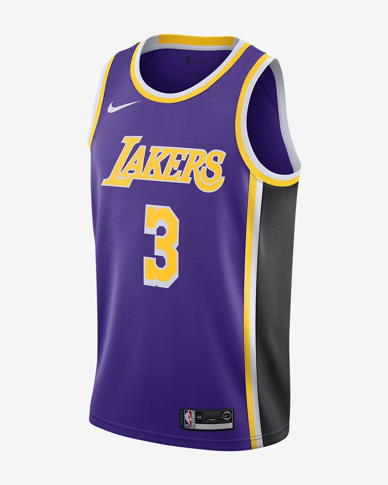 Camiseta Anthony Davis Lakers Statement Edition Nike NBA Swingman