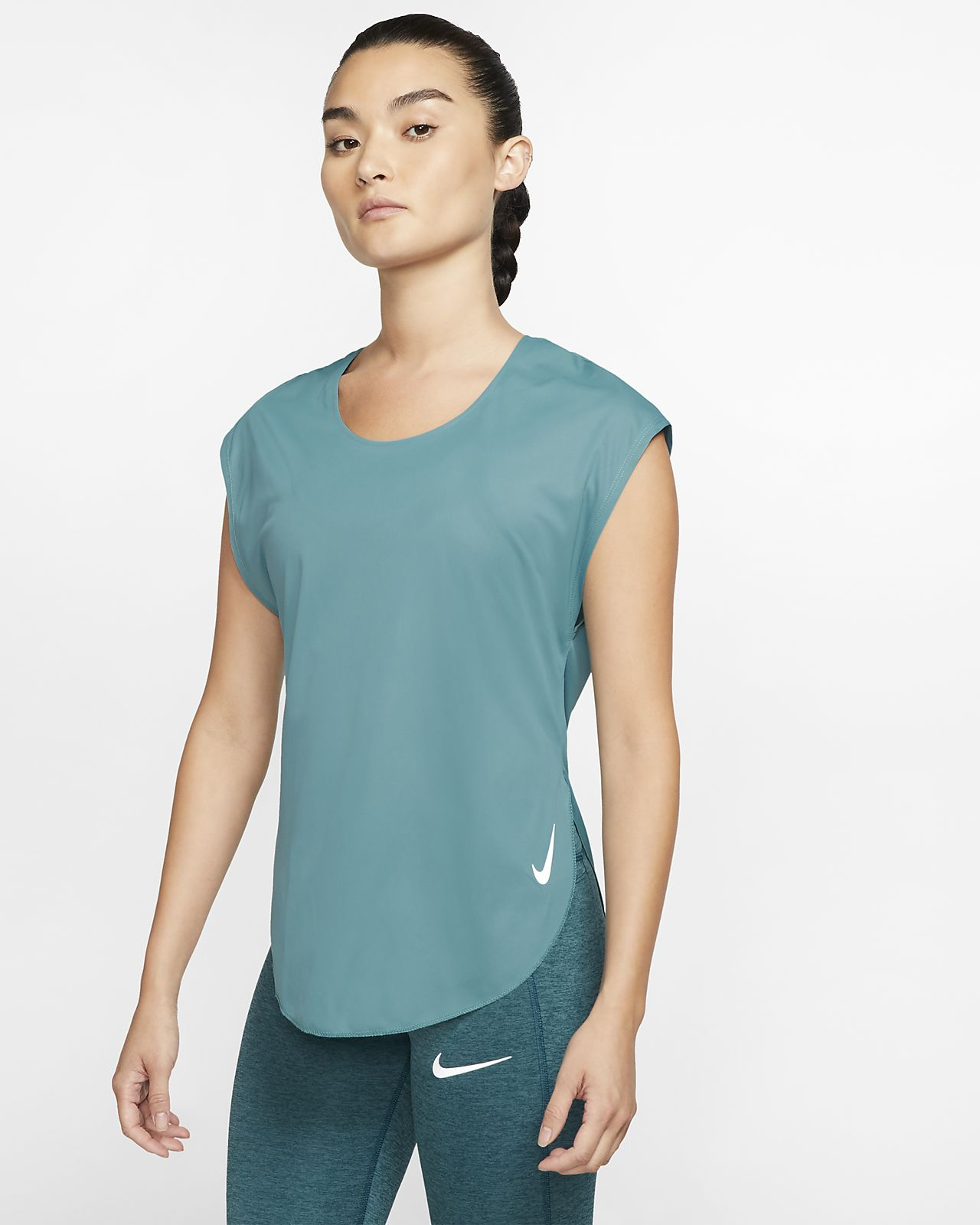Prenda superior de running para mujer Nike City Sleek
