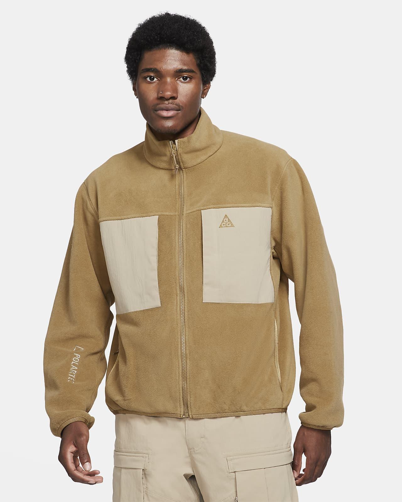 """Maglia in fleece con zip a tutta lunghezza Nike ACG Polartec® """"Wolf Tree"""" - Uomo"""