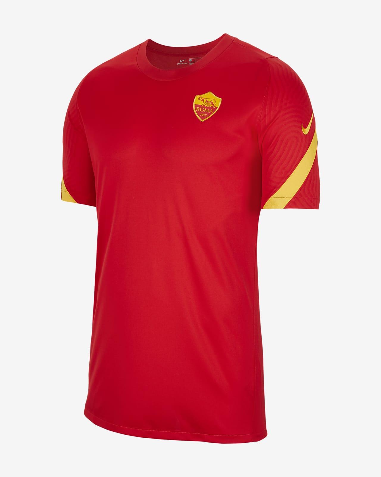 AS Roma Strike Men's Short-Sleeve Football Top