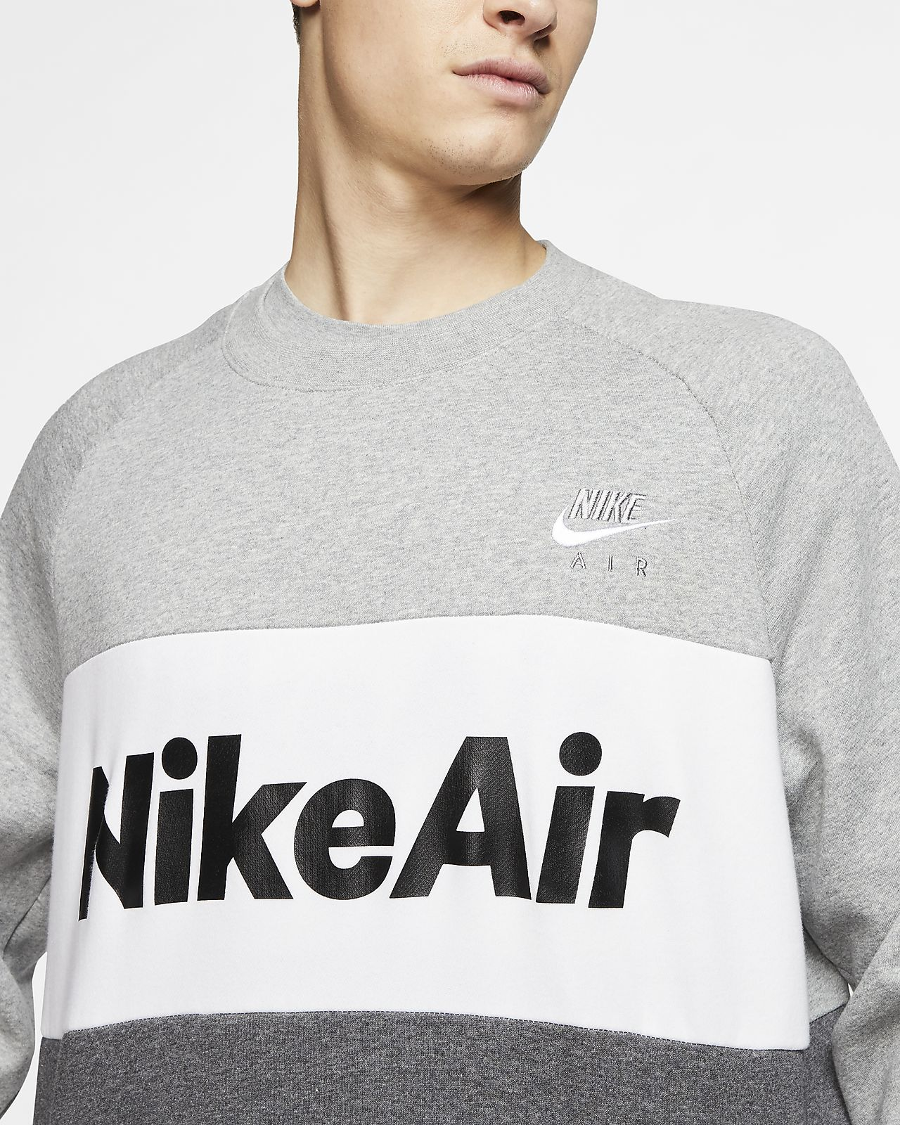 Nike Air Men's Fleece Crew. Nike GB