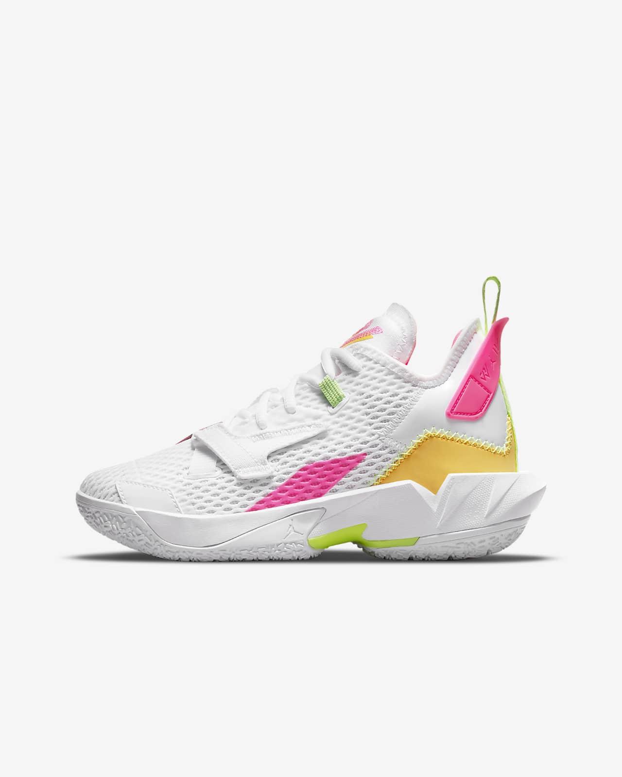 Jordan «Why Not?»Chaussure de basketball Zer0.4 pour Enfant plus âgé