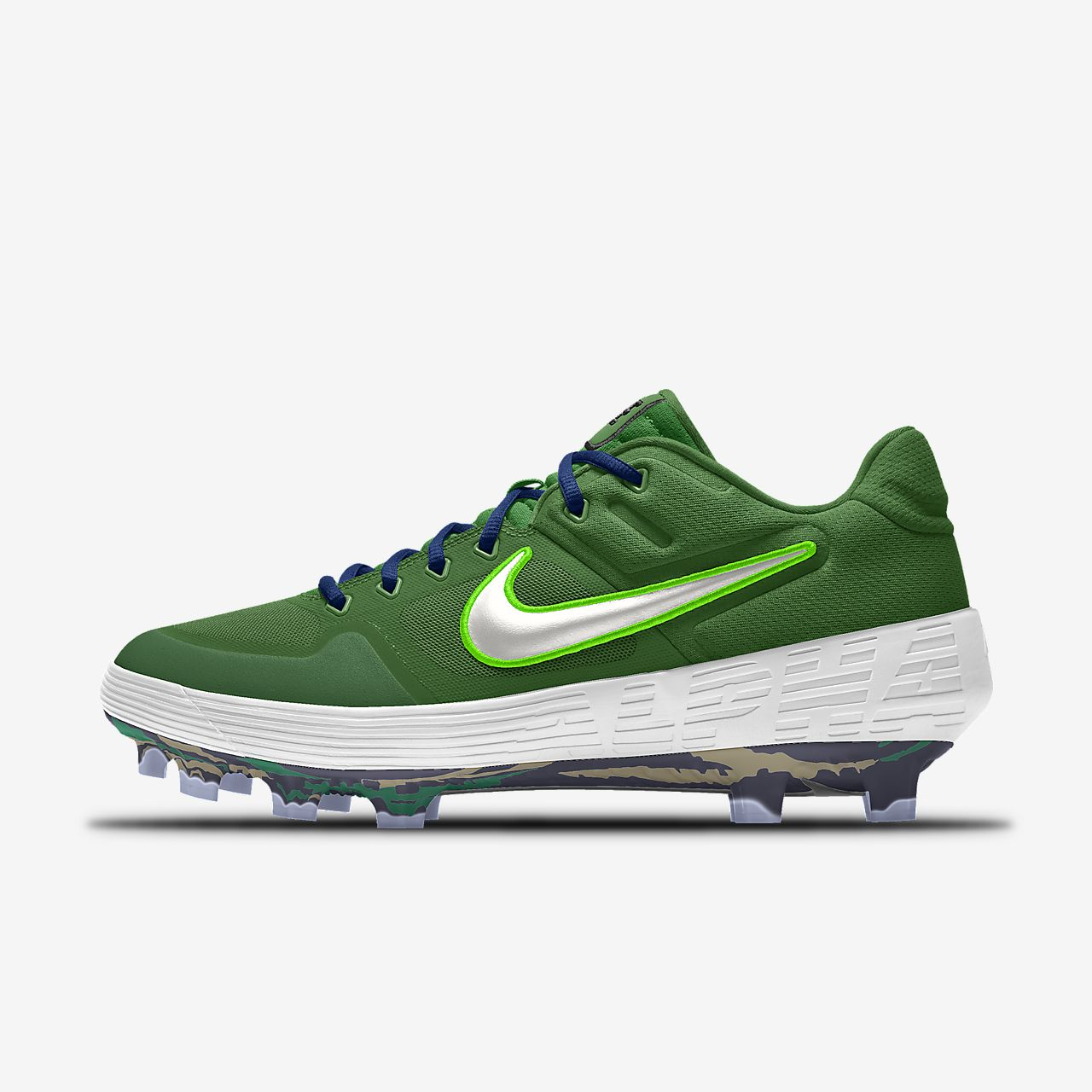 Nike Alpha Huarache Elite 2 Low MCS Premium By You Custom Baseball Cleat