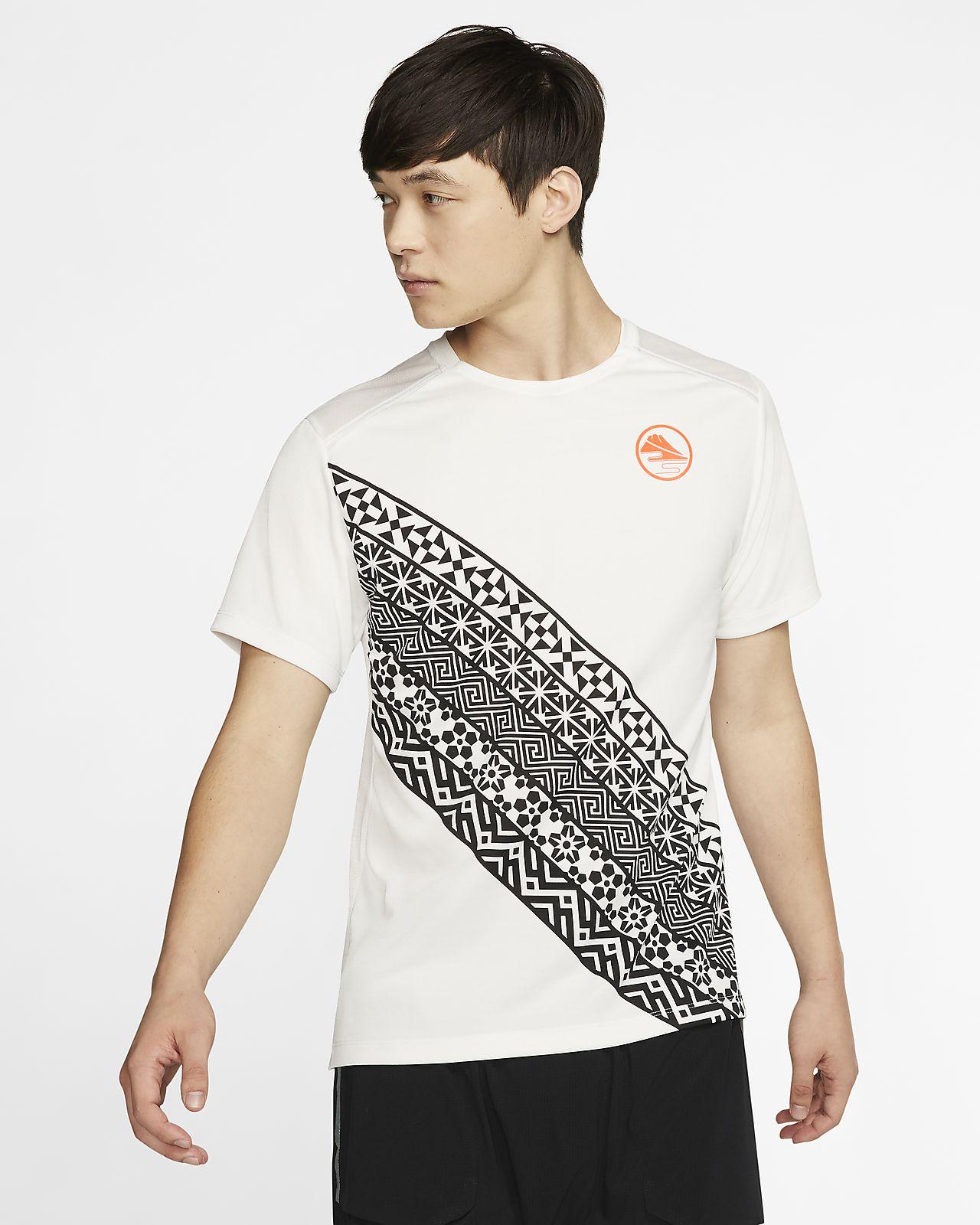 Мужская беговая футболка Nike Dri-FIT Miler
